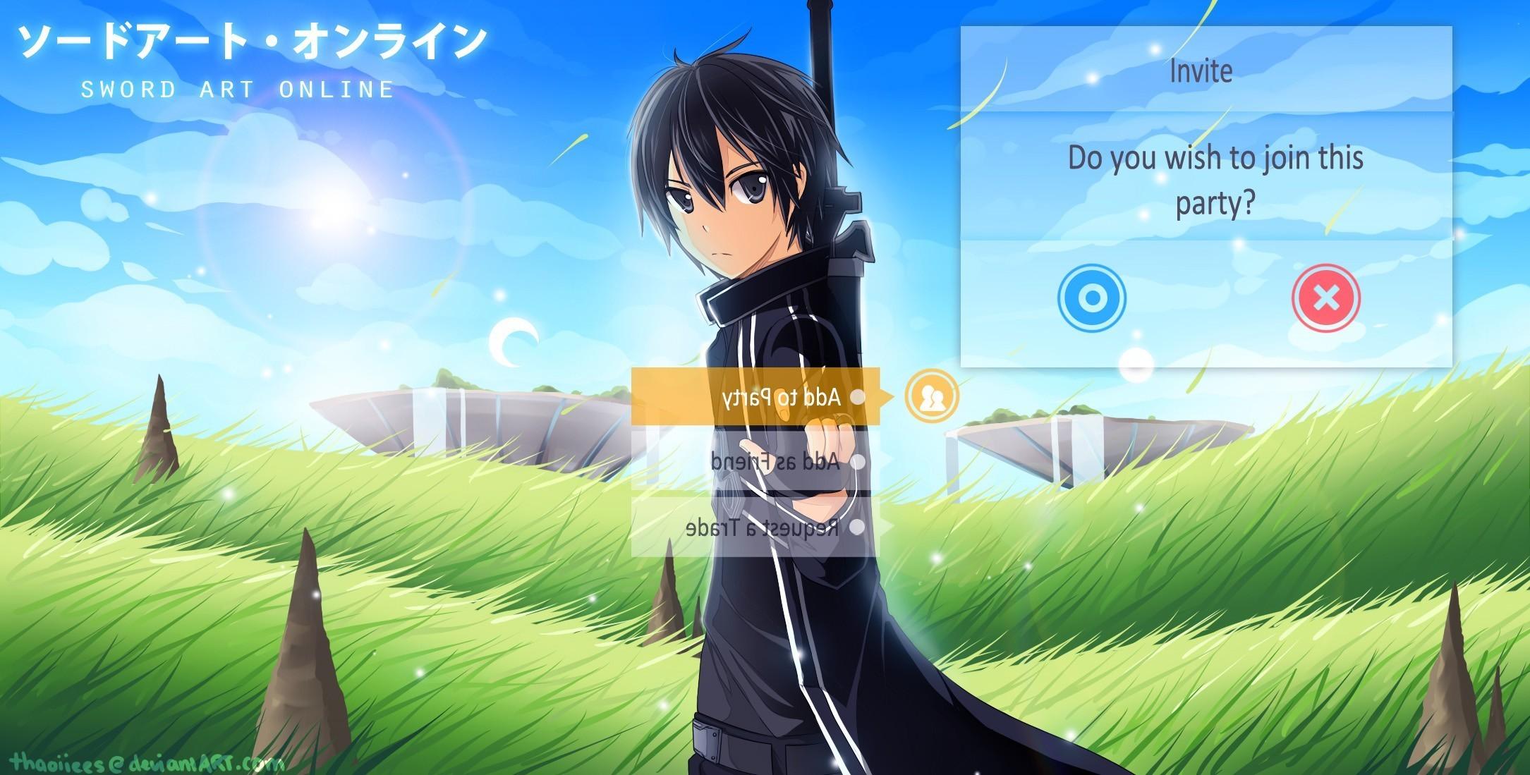 Sword Art Online, Kirigaya Kazuto, Anime Wallpapers HD / Desktop and Mobile  Backgrounds