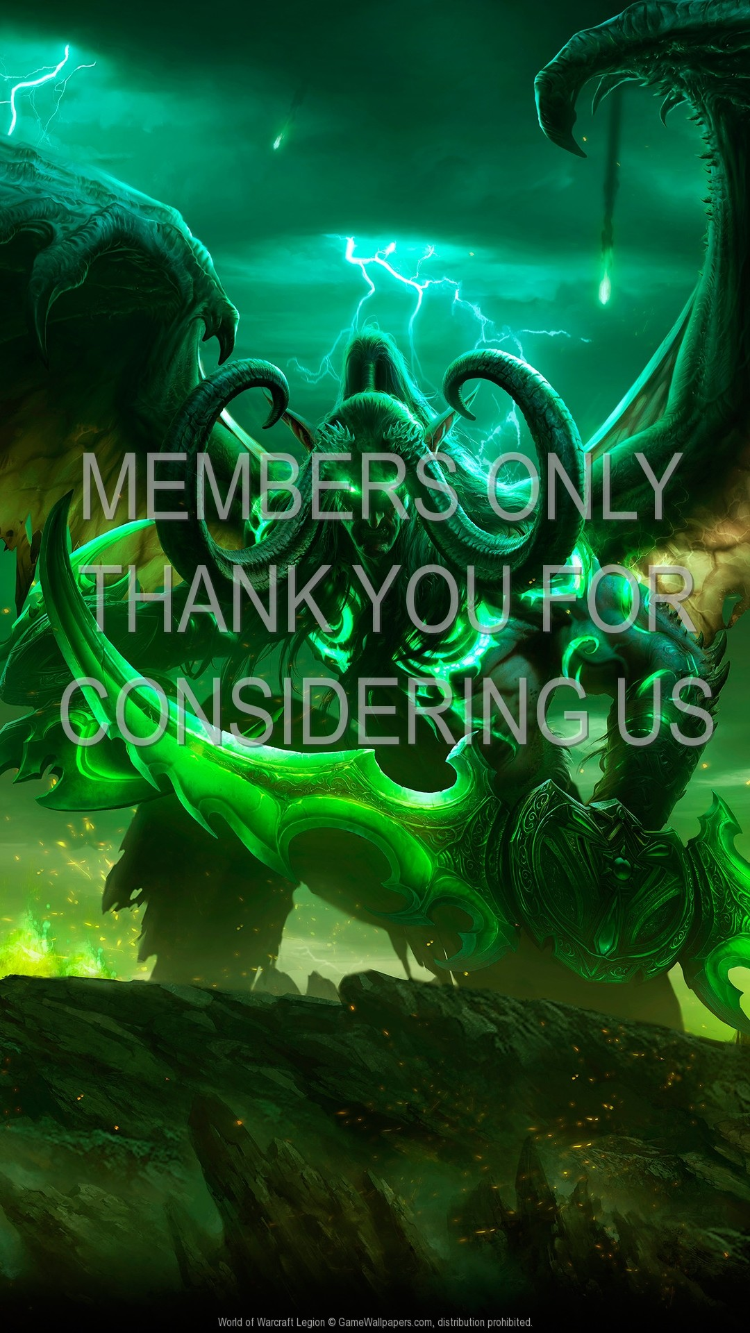 World of Warcraft: Legion 1920×1080 Mobile wallpaper or background 01