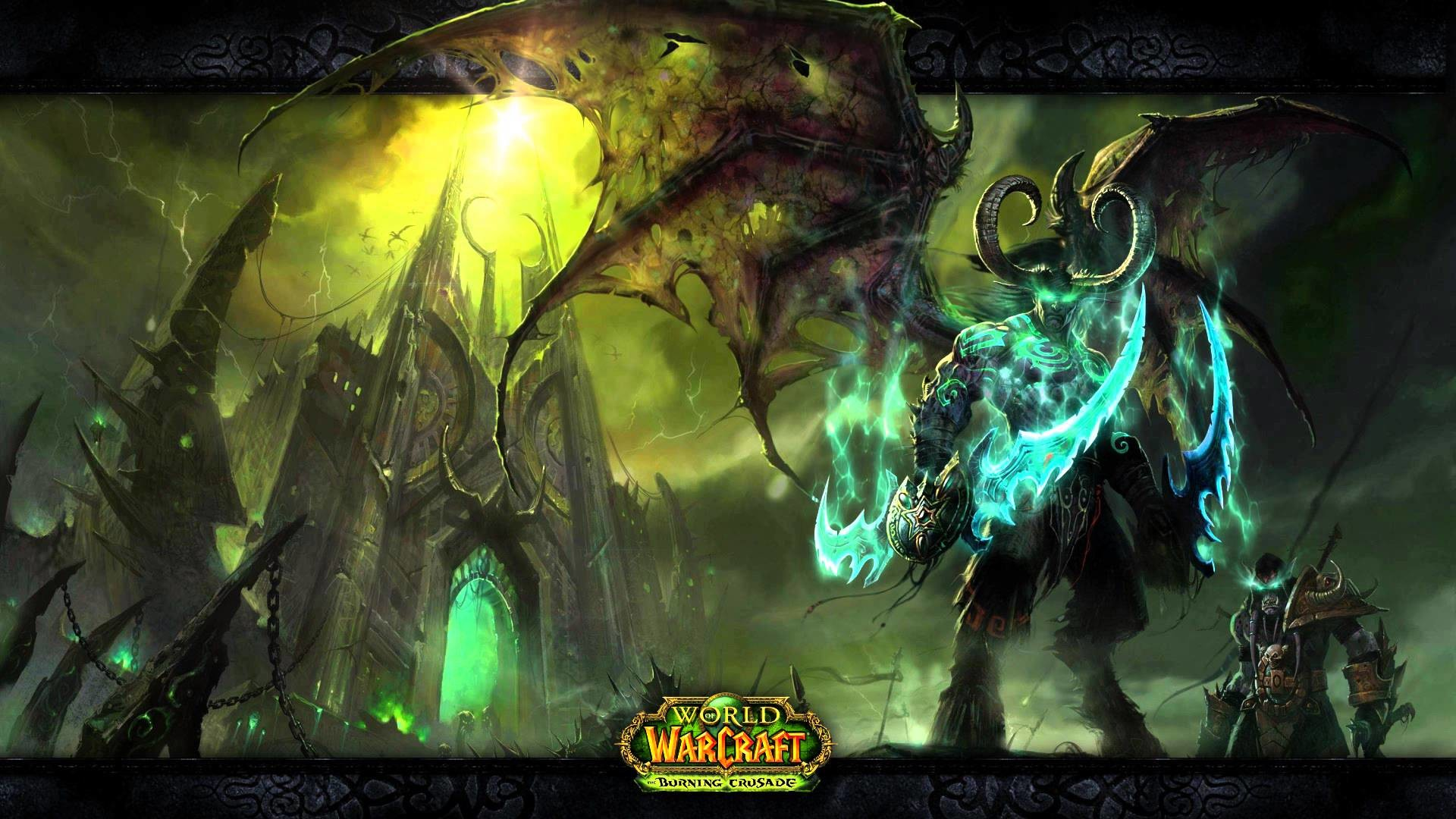 World of Warcraft – Illidan and the Black Temple – Motion Background –  YouTube