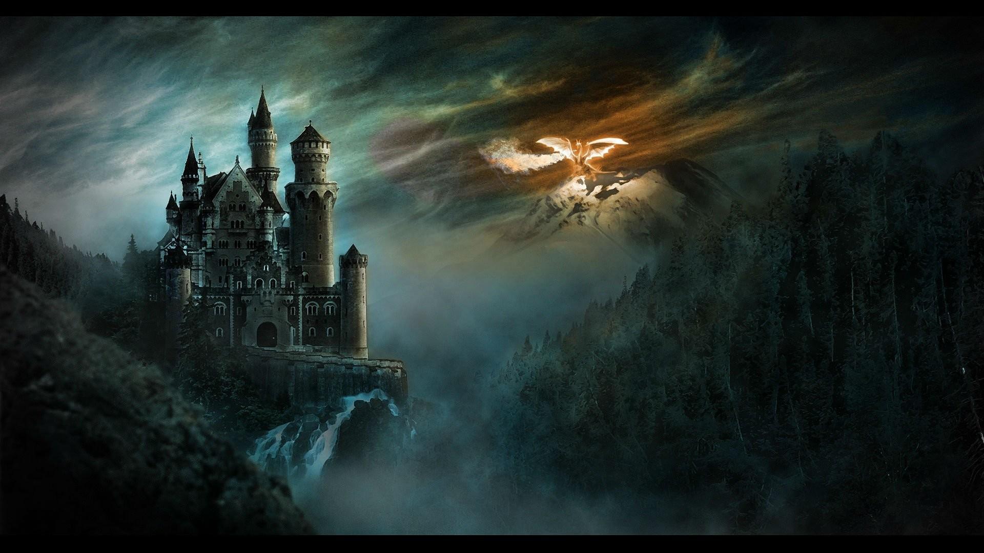 DUNGEONS DRAGONS Forgotten Realms magic rpg action adventure puzzle fantasy  warrior dragon wallpaper. . 1920×1080