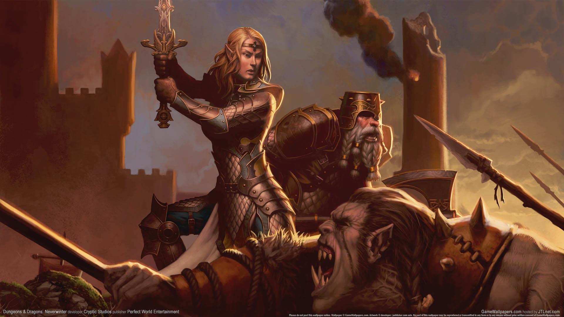 Dungeons & Dragons: Neverwinter wallpaper 01 1920×1080