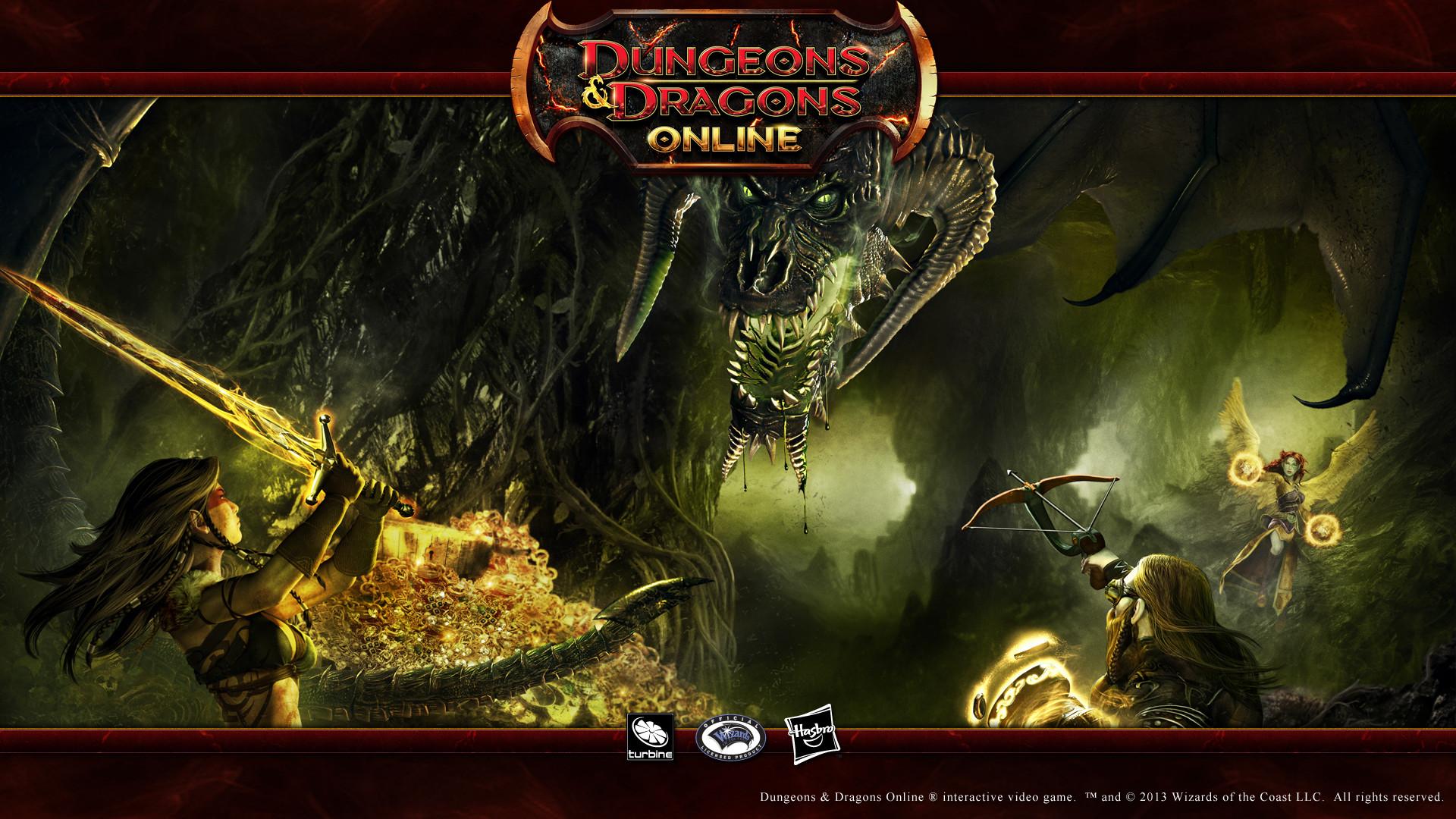 Dungeons & Dragons Online 16:9 Wallpaper – Black Dragon