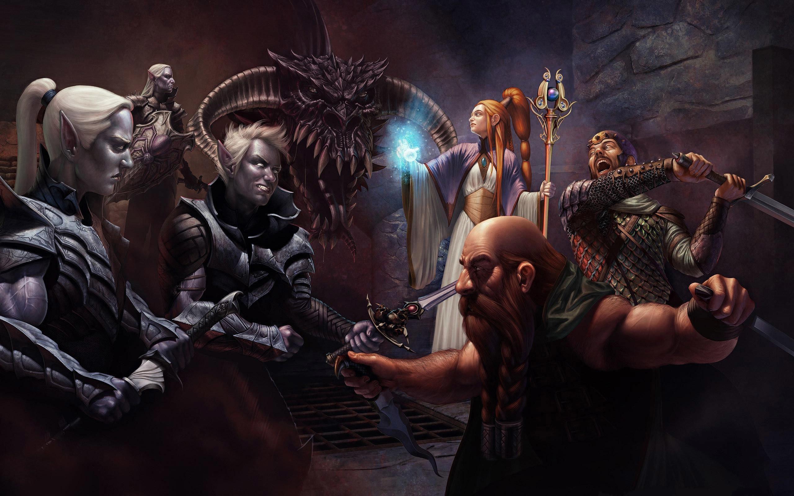 … Dungeons & Dragons HD Wallpaper 2560×1600