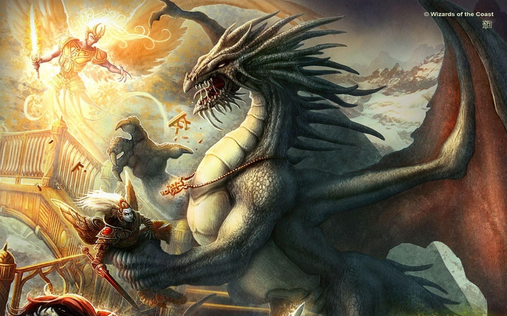 Fantasy – Dungeons & Dragons Bakgrund