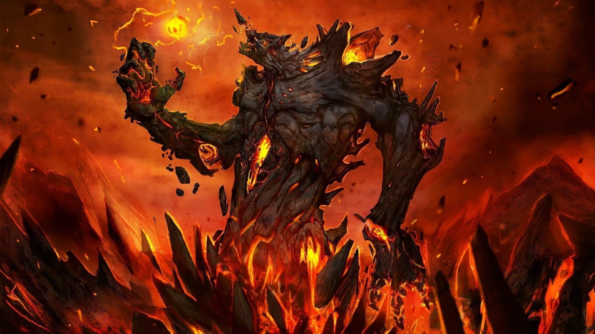 Download Fantasy Lava HD Wallpapers for Free, RyylxJW · Wallpaper  BackgroundsWallpaper ForDungeons And DragonsLava
