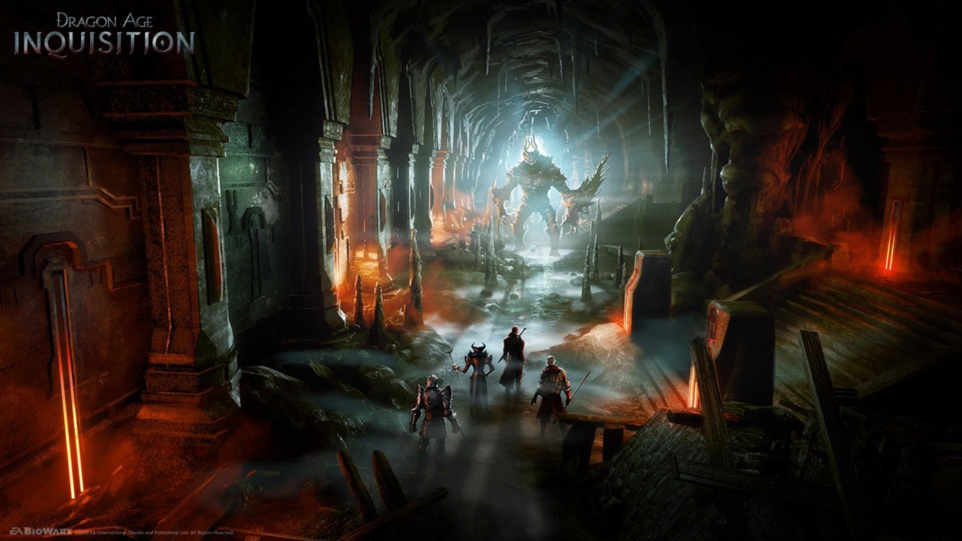 dragon age: inquisition warrior demon dungeon