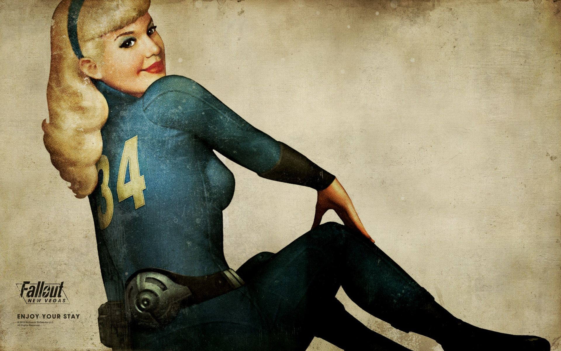 Vault jumpsuit (Fallout: New Vegas)   Fallout Wiki   FANDOM powered by Wikia