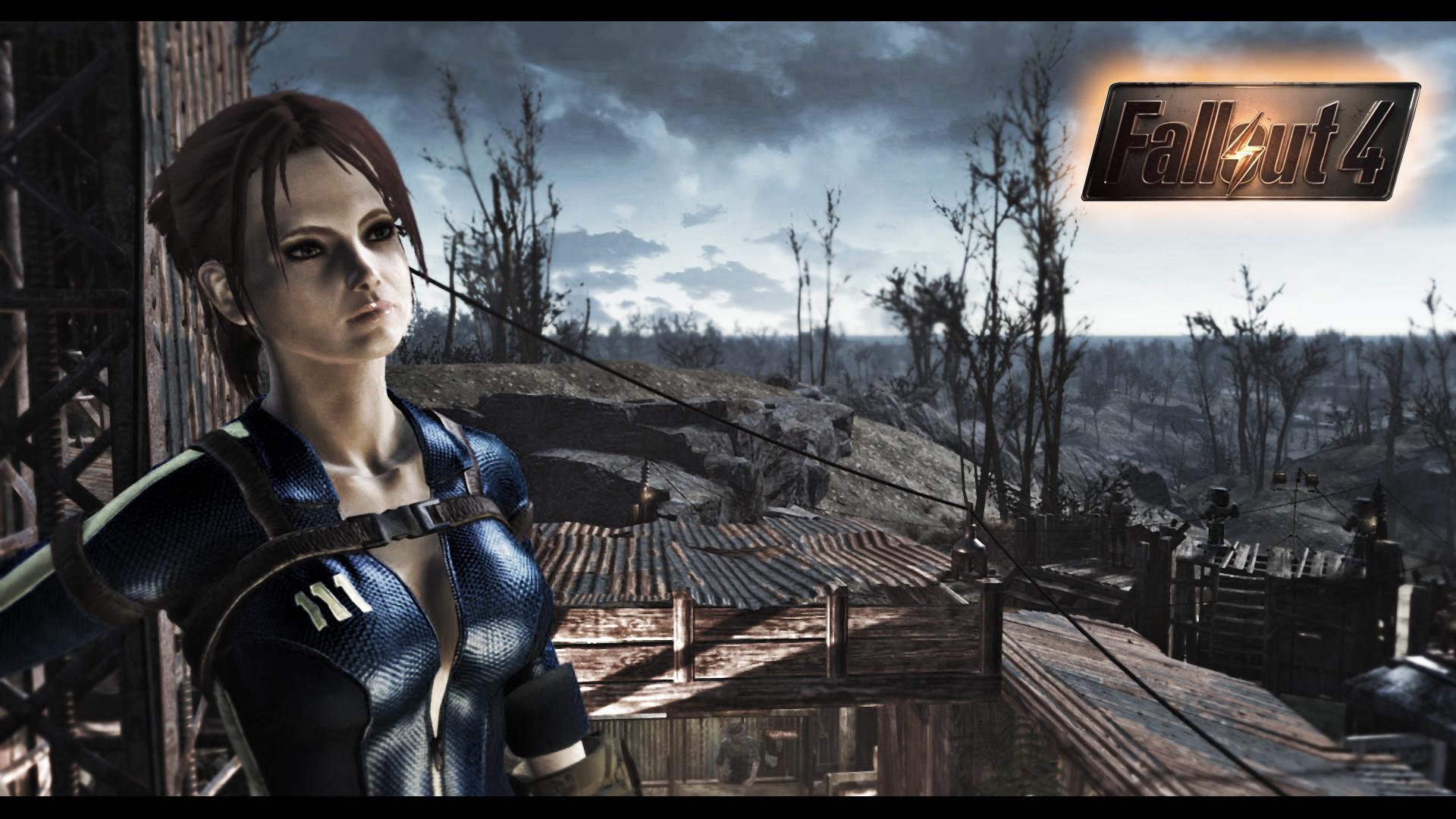 Fallout 4 Vault Girl by DonMichael71 Fallout 4 Vault Girl by DonMichael71
