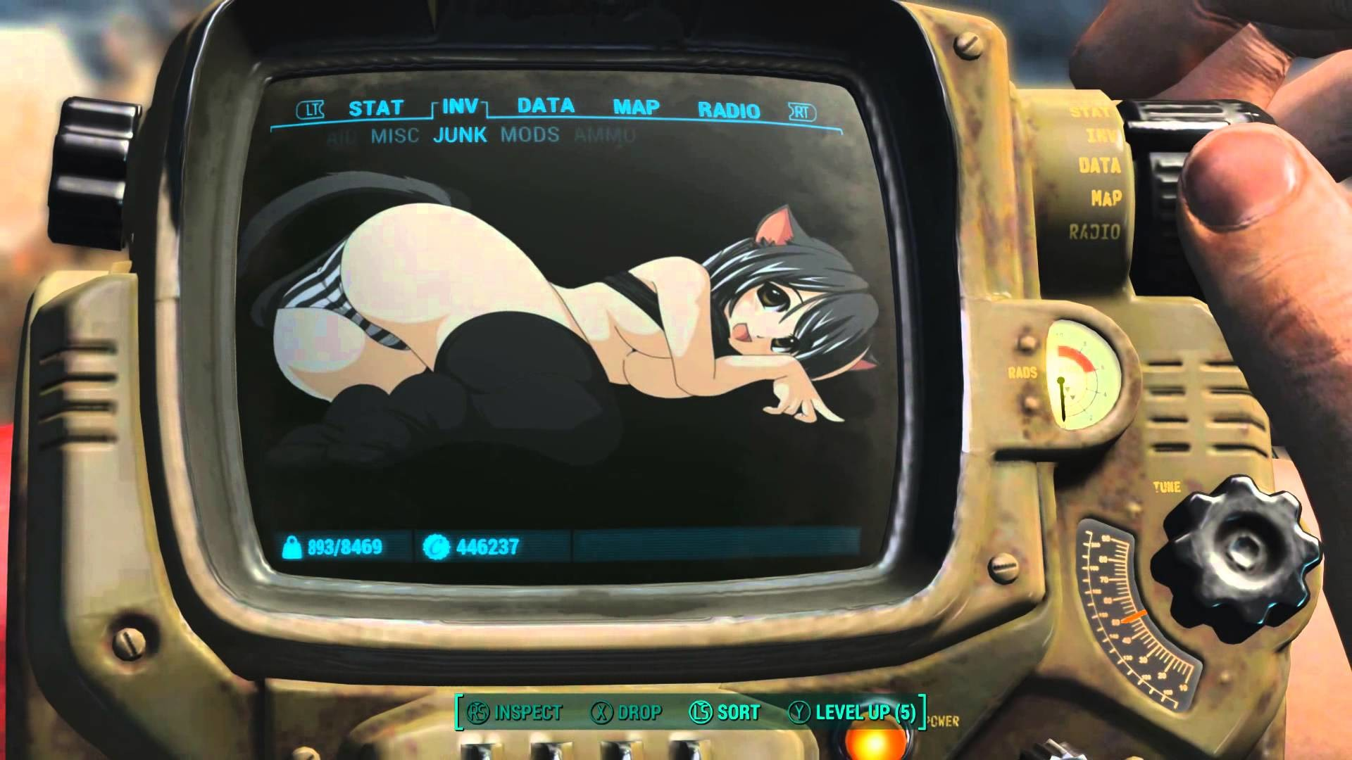 fallout 4 – Anime Backgrounds for pipboy and settlement Portraits – YouTube