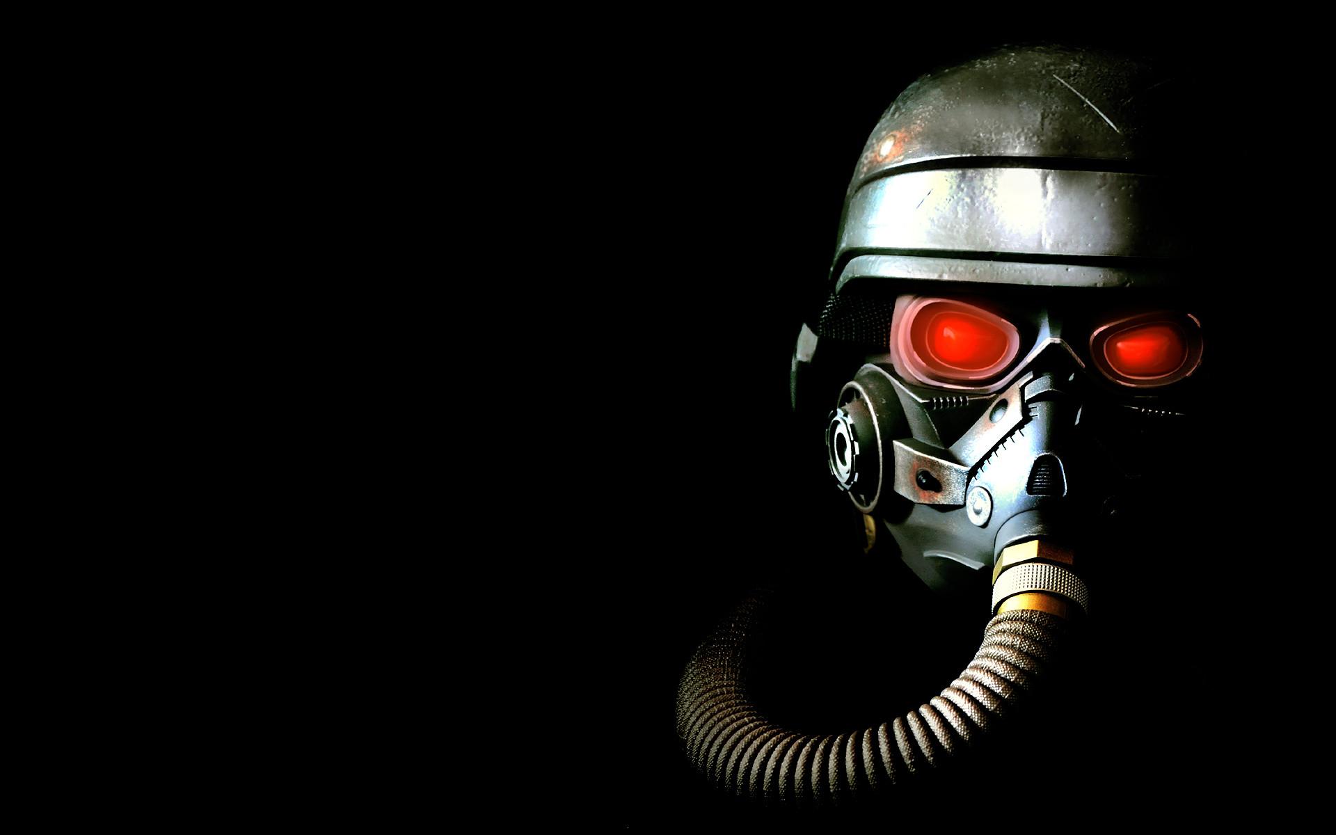 Metro 2033 Gas Mask Monsters Orange wallpaper   1680×1050   46277 .