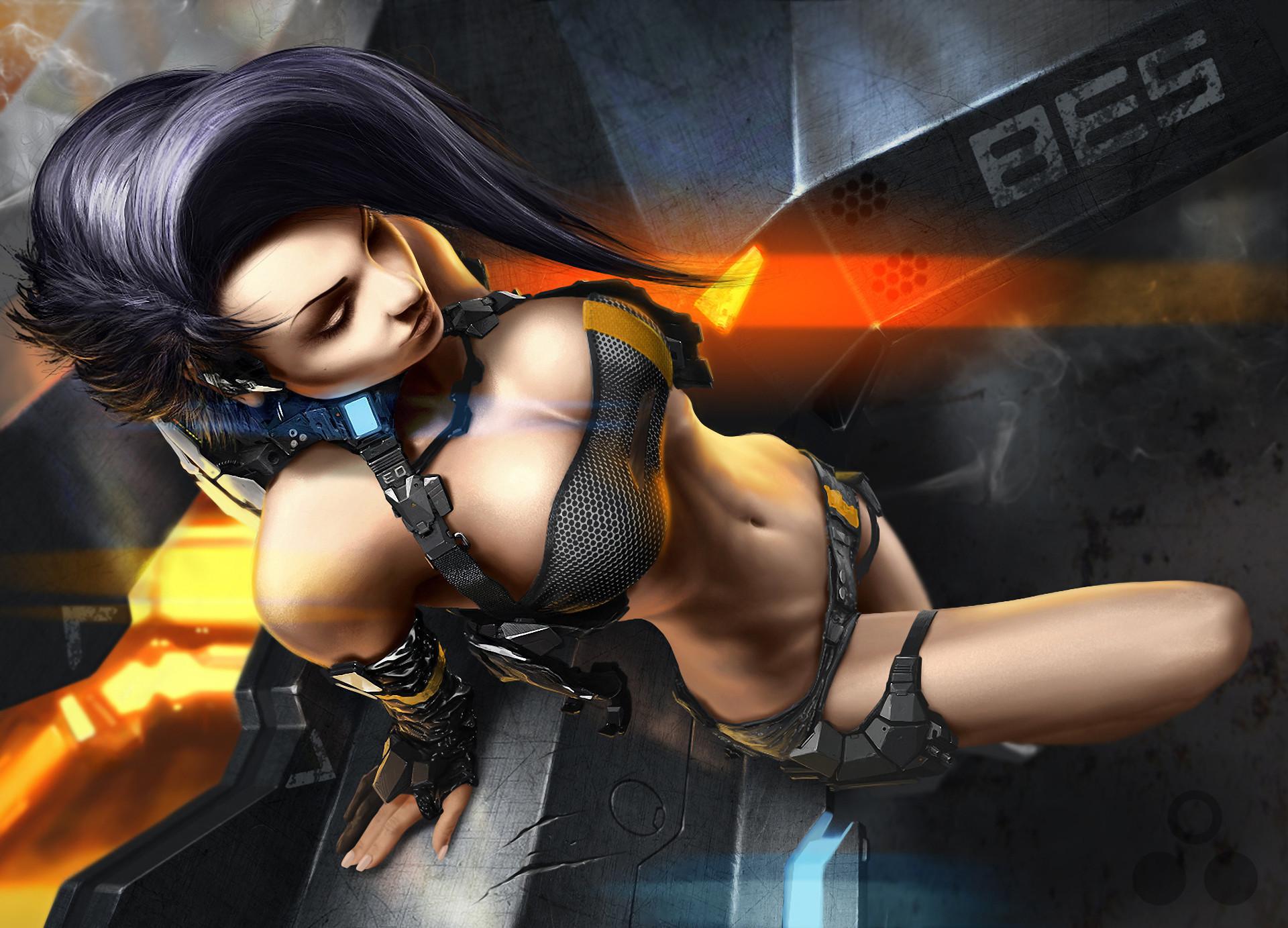 women, CGI, Fantasy Art. Sexy