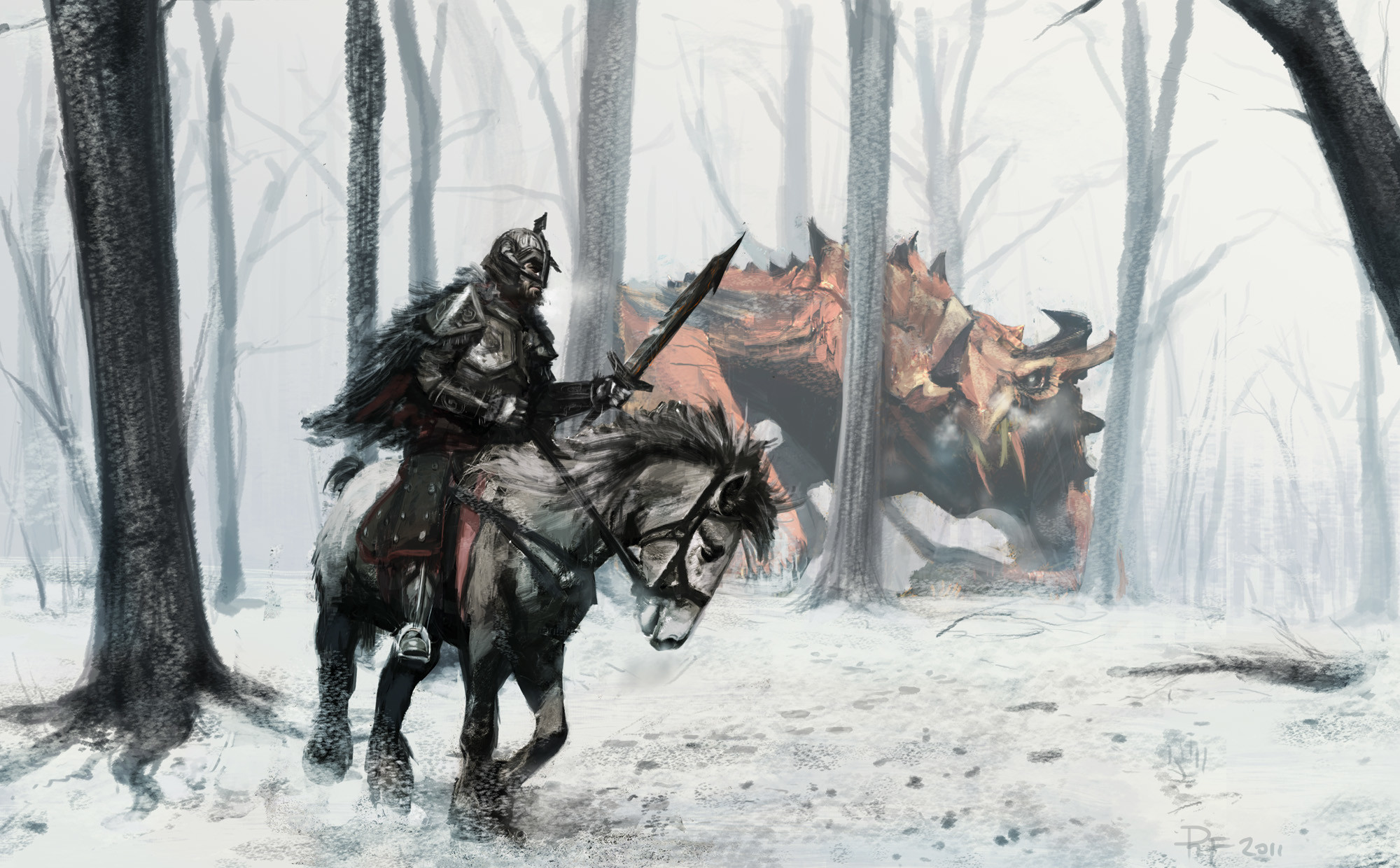 Video Game – The Elder Scrolls V: Skyrim Skyrim The Elder Scrolls Dragon  Warrior Fantasy