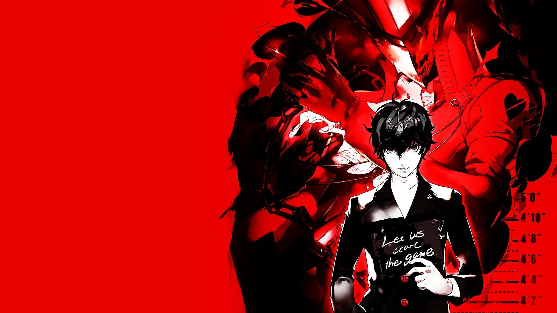 Bring some high school Tokyo to your PS4 background, with this Persona 5  custom wallpaper.