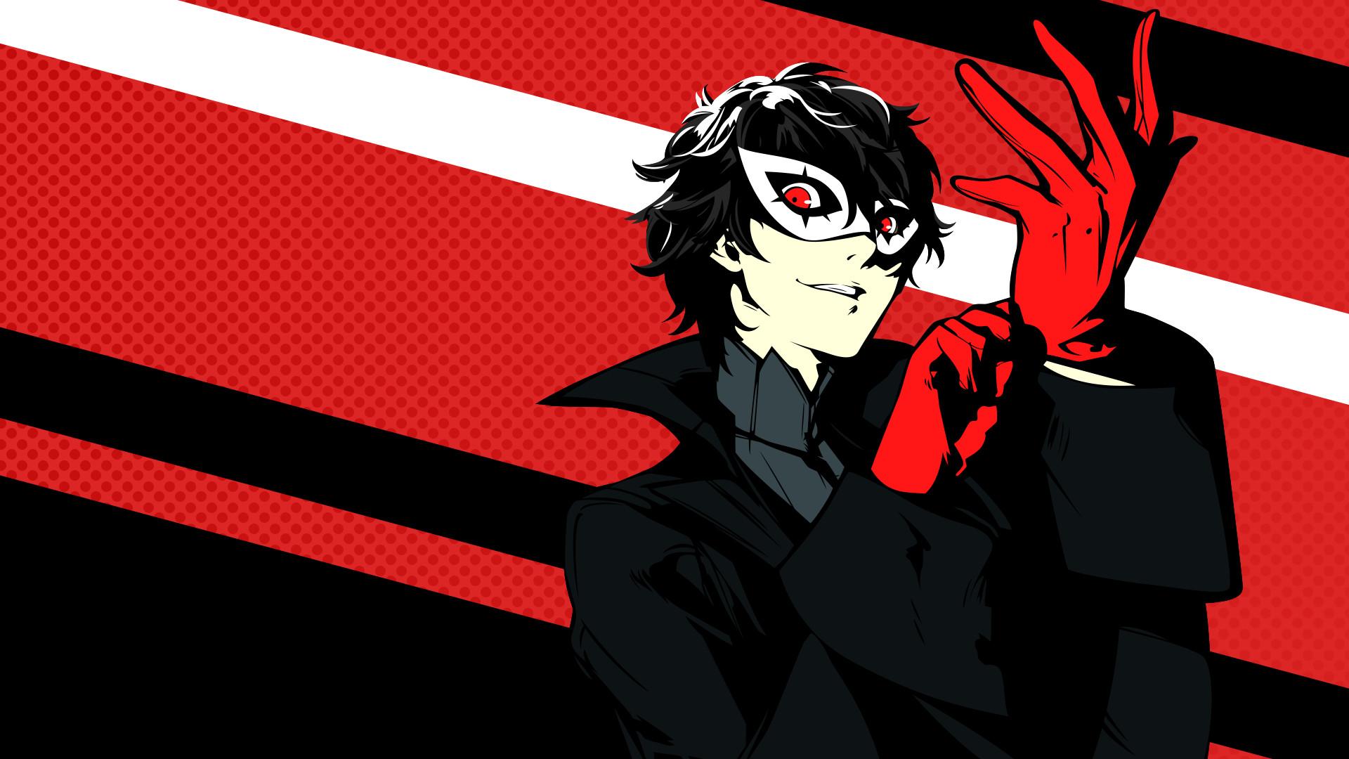 Video Game – Persona 5 Akira Kurusu Bakgrund