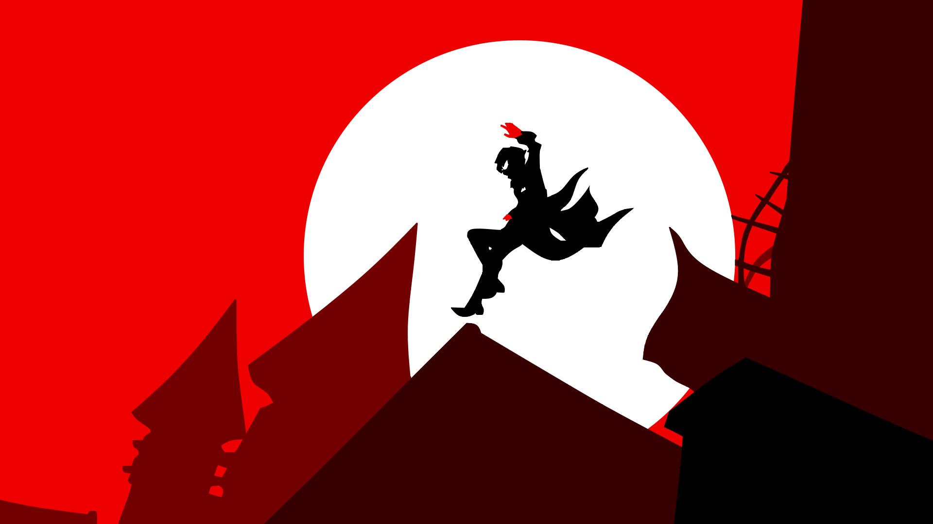 Persona5 Silhouette Wallpaper by Elysianaura Persona5 Silhouette Wallpaper  by Elysianaura