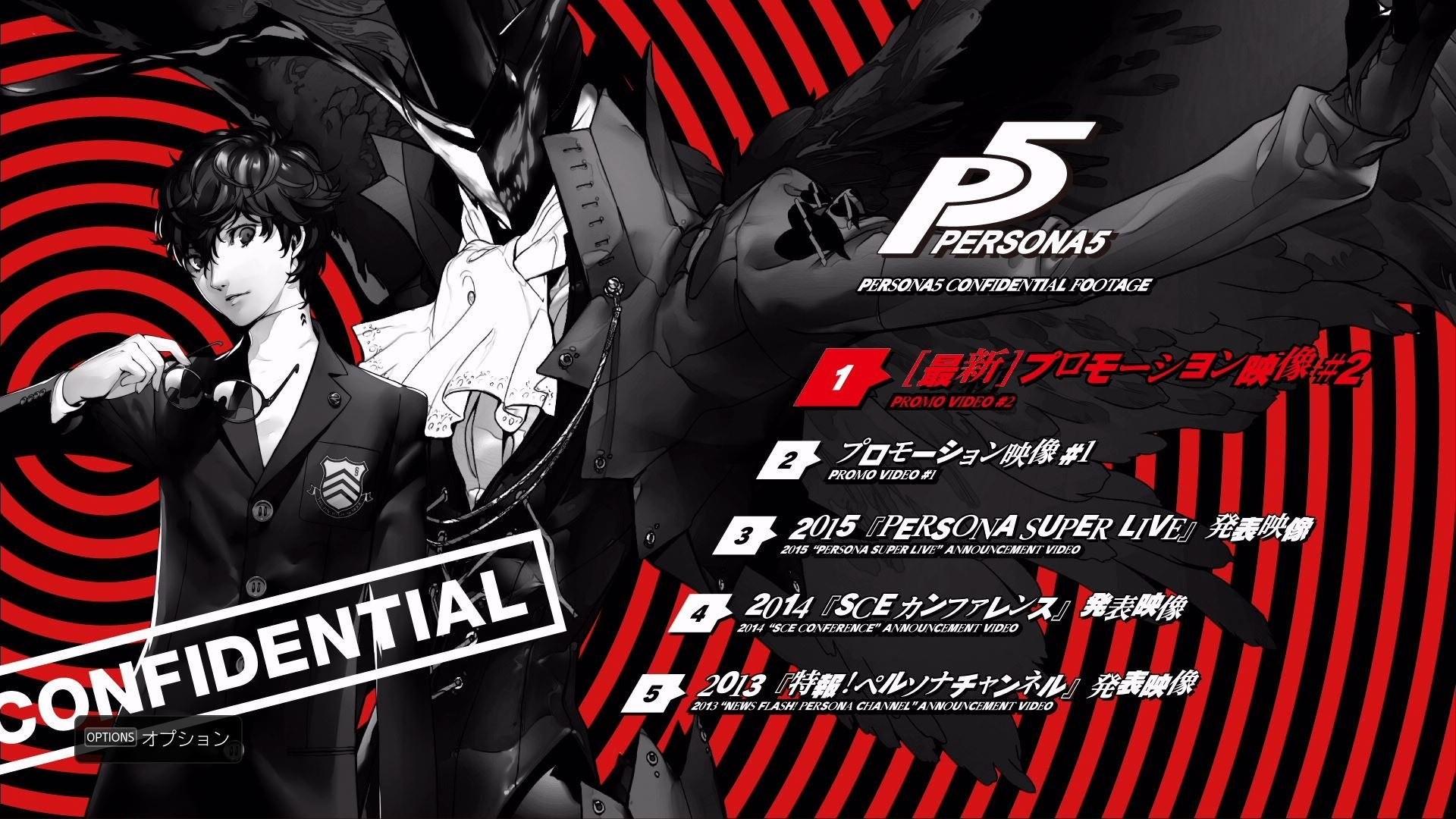 Video Game – Persona 5 Bakgrund
