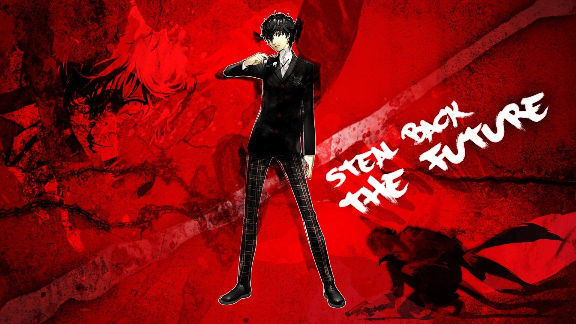 wallpaper of Persona 5 Protagonist for desktop