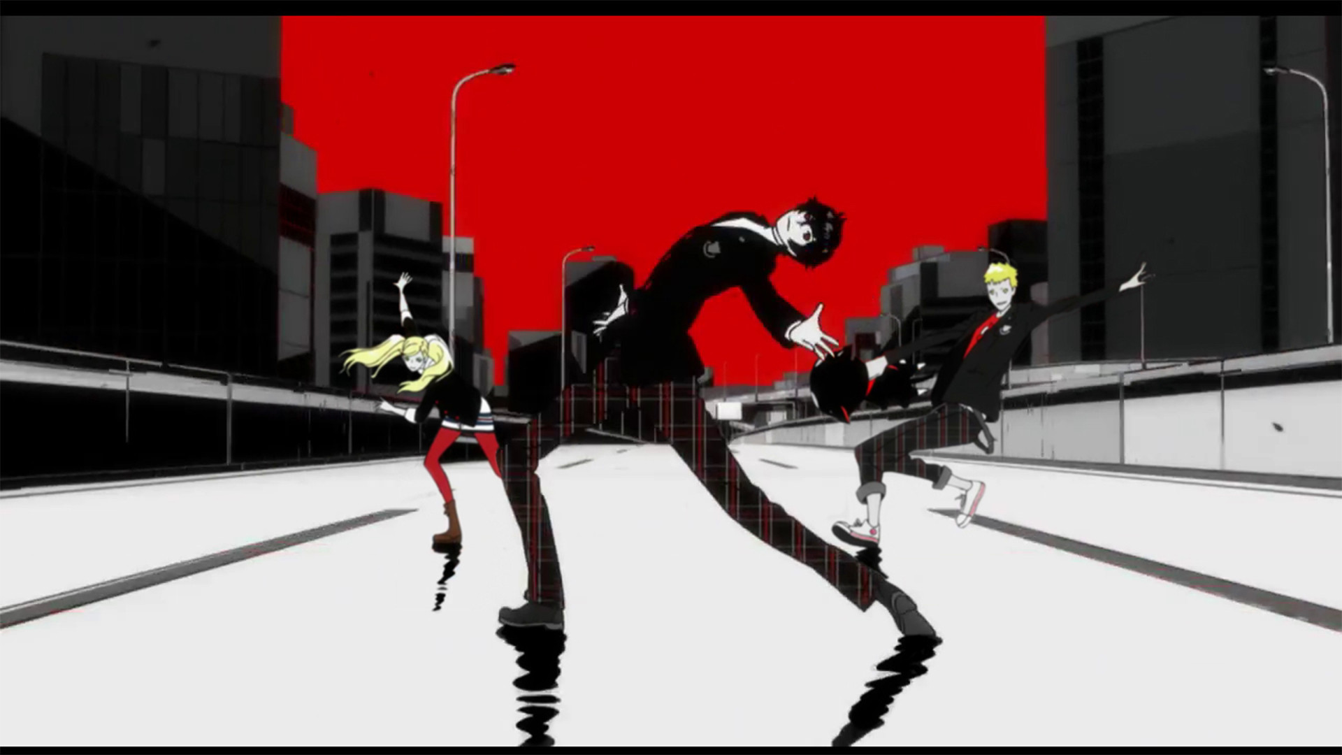 Me and the crew skating away from the haters. Persona 5SkatingArtworksVideo  GameWallpaperThe …