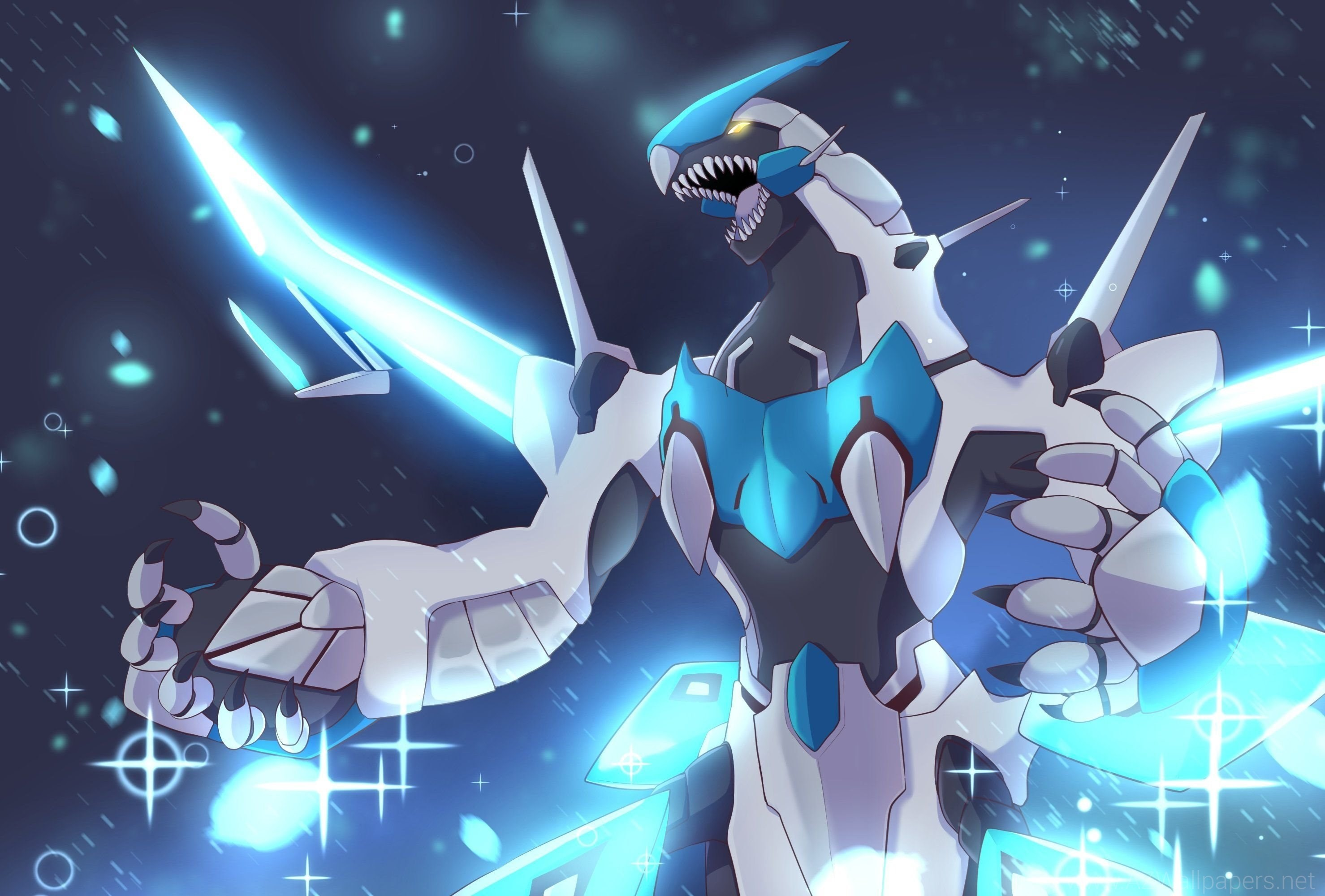 Blue Eyes White Dragon By Fairlyoddkahnefan On DeviantArt. Yu gi oh  Wallpapers