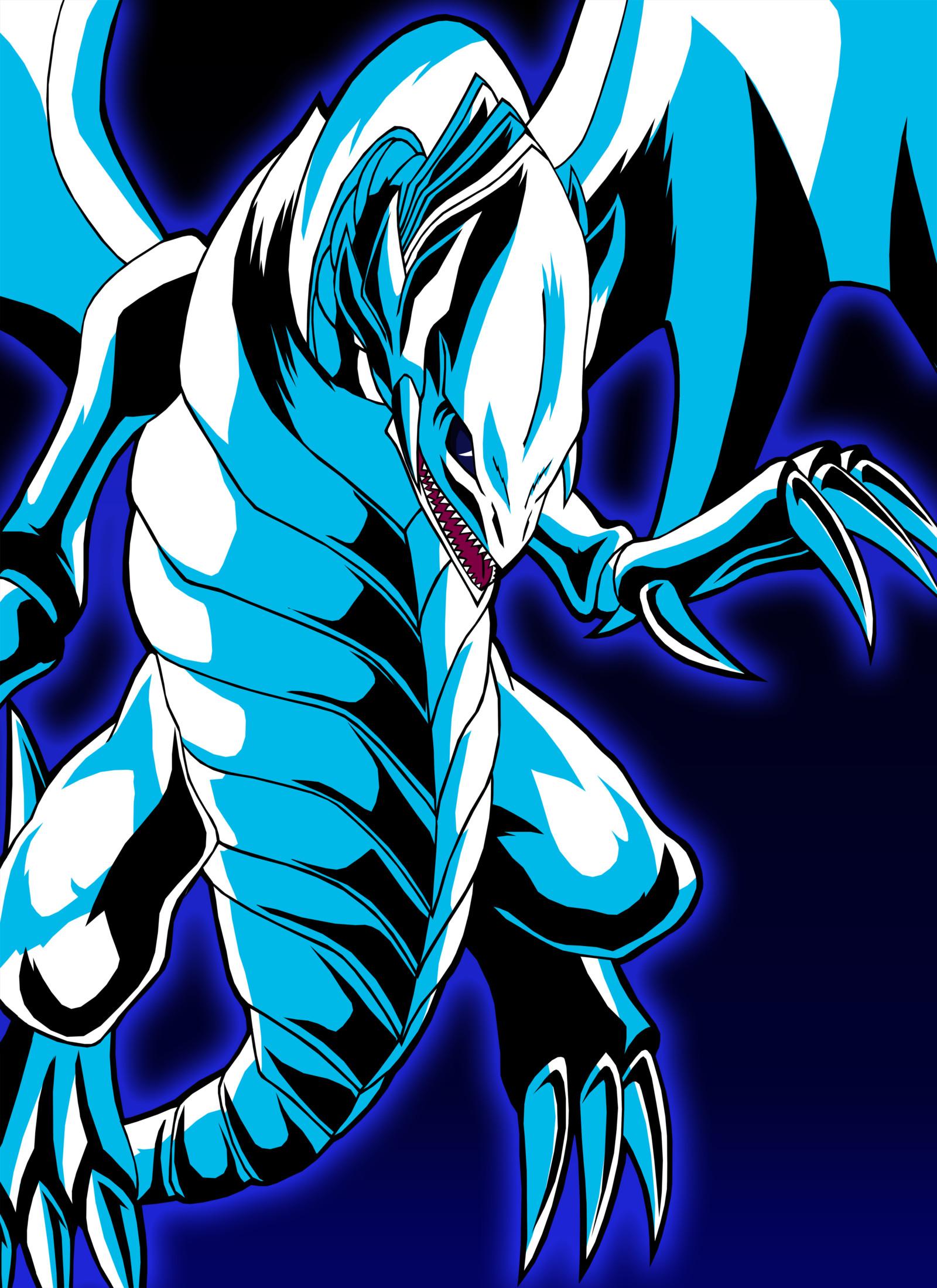 Blue Eyes White Dragon by Chase-TH