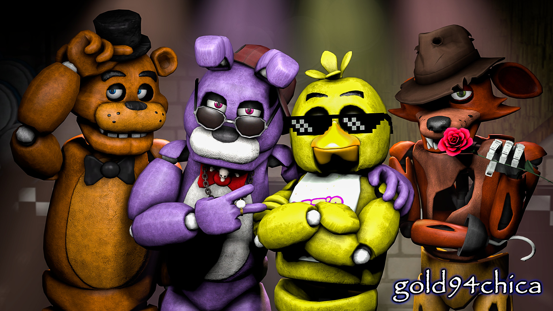 Photo Collection: PT.894 FNAF Chica Images, NMgnCP
