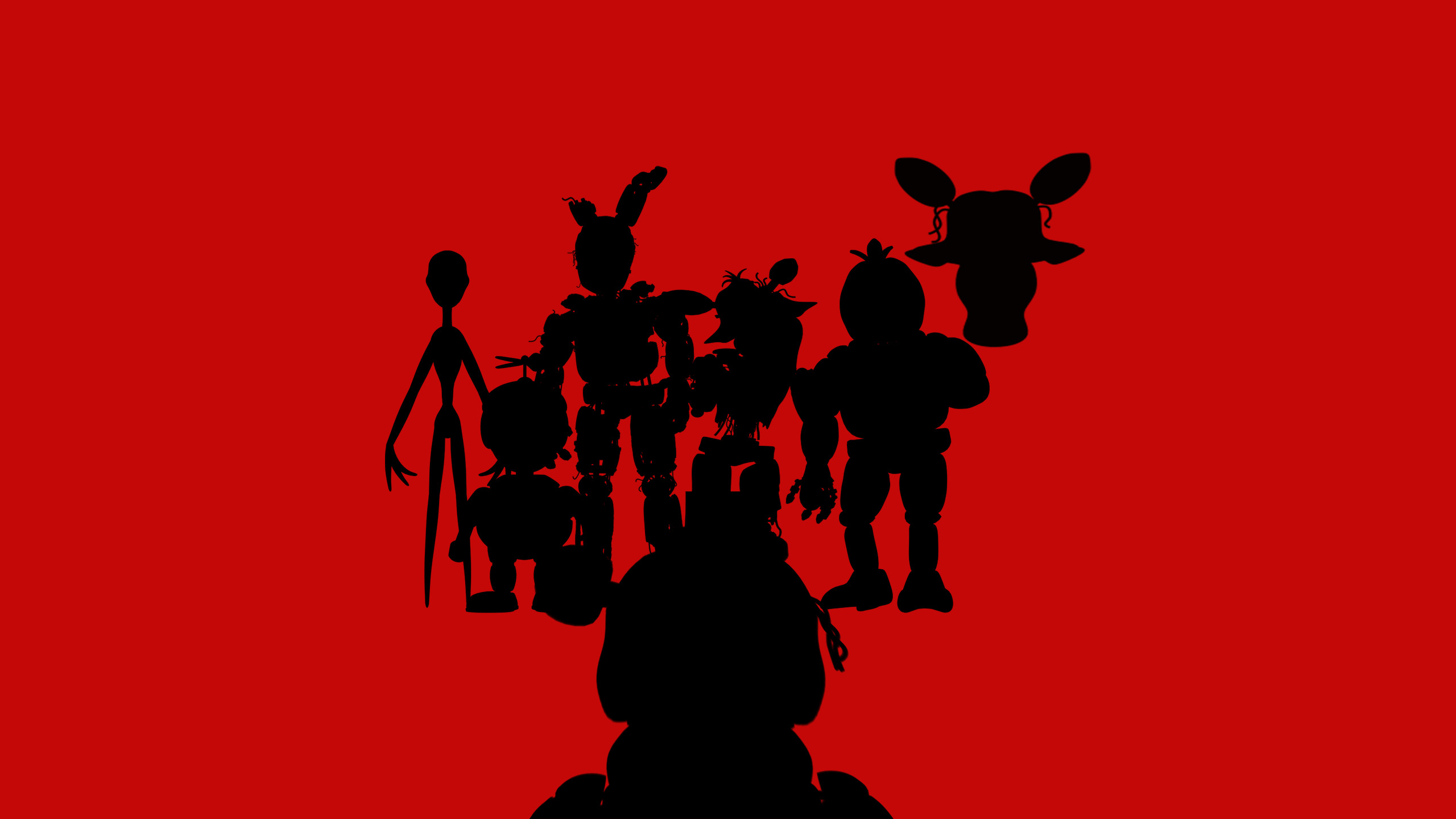 Five Nights at Freddy's all different game charter's from fnaf …
