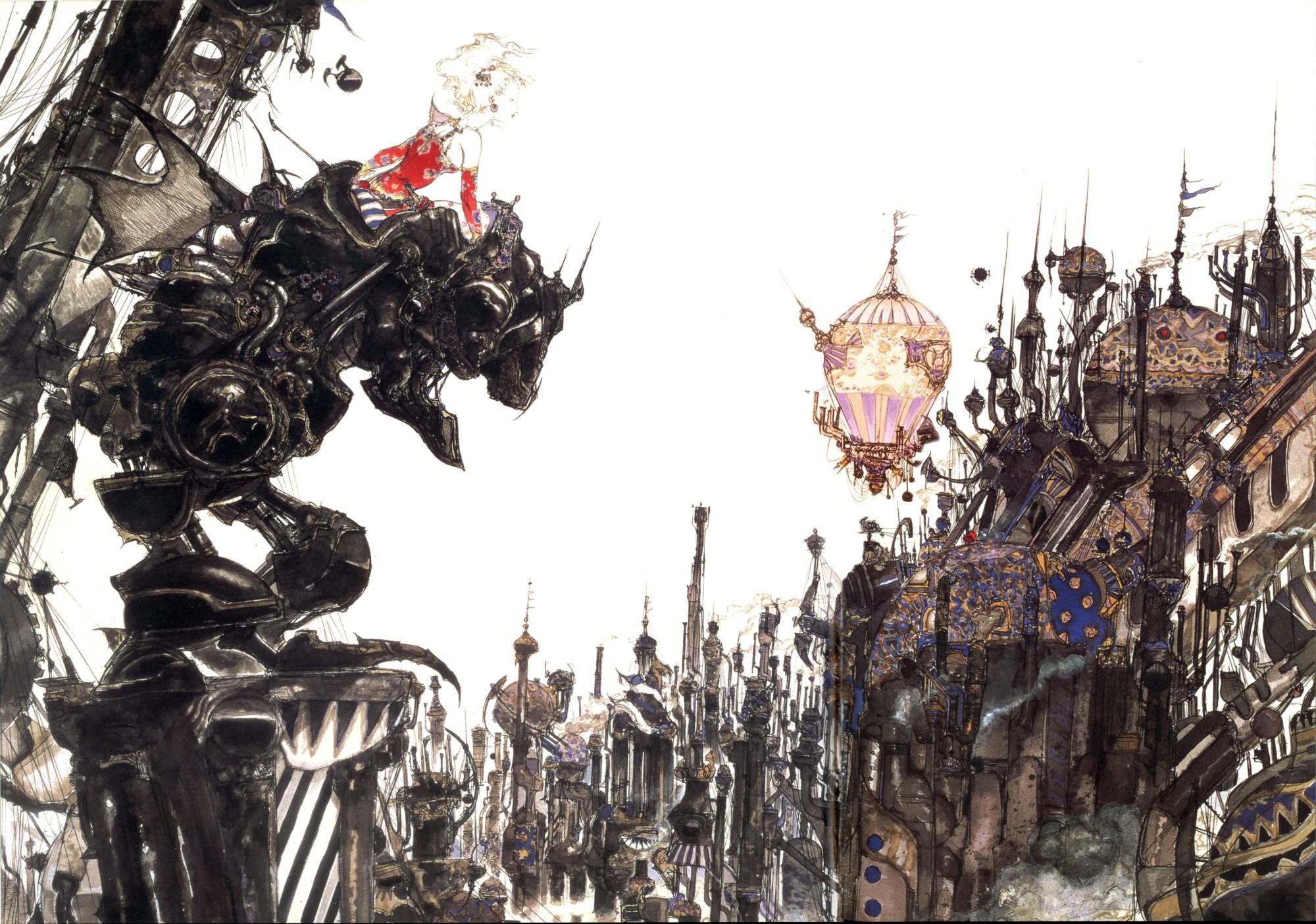 Retro Review: Final Fantasy VI (FF III in North America)   Raging Gazebo