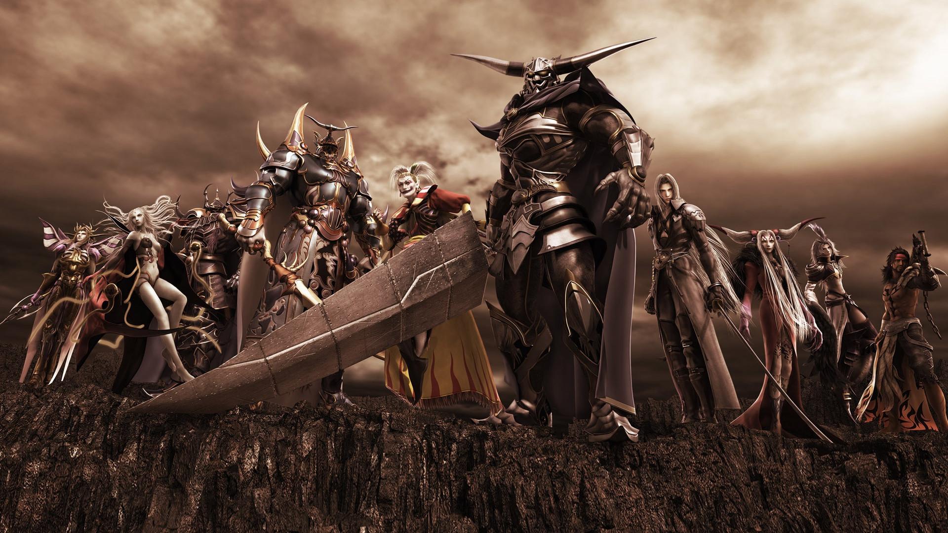 Final Fantasy Games Kefka Sephiroth