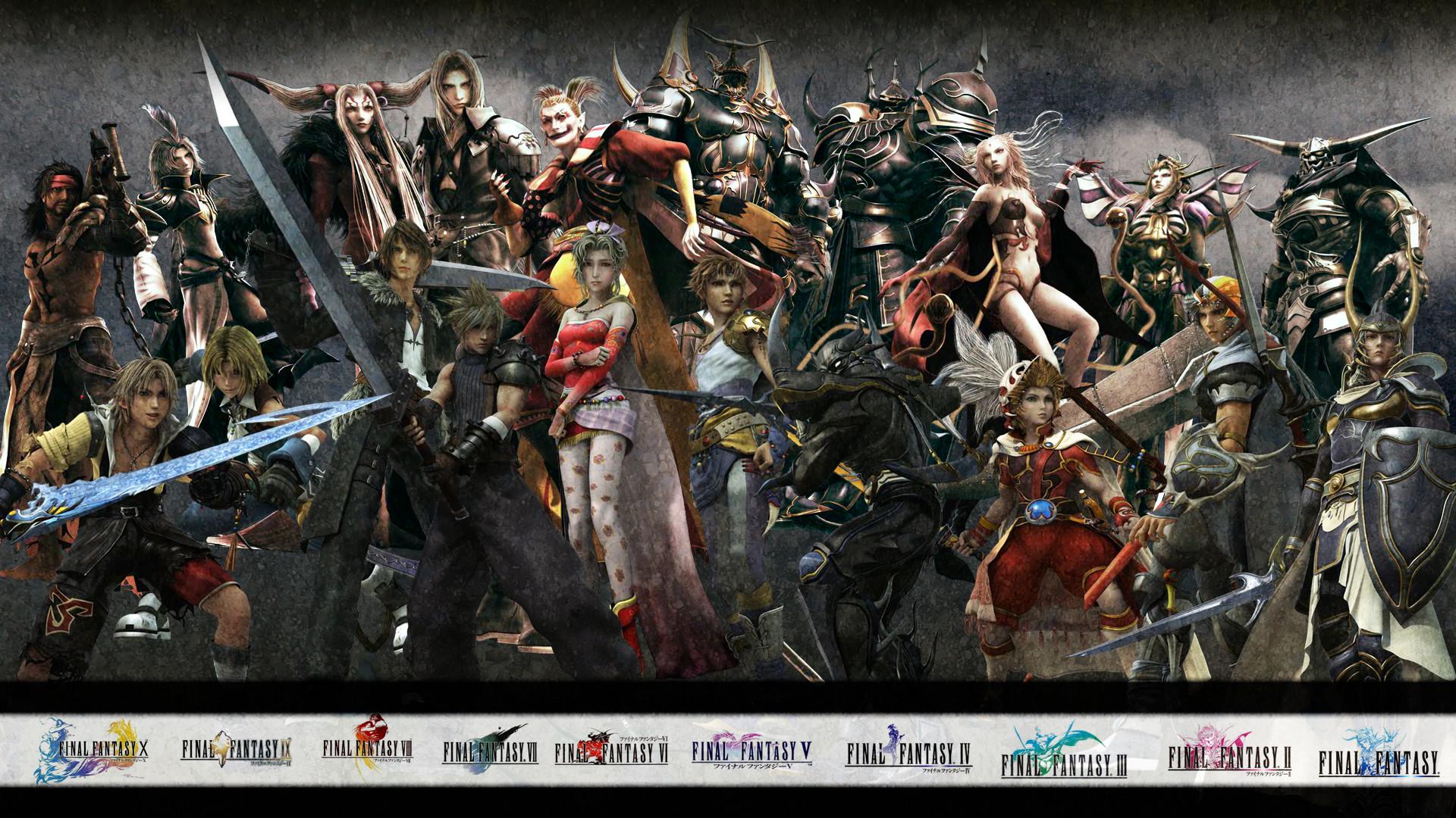 … dissidia final fantasy wallpaper 6 …