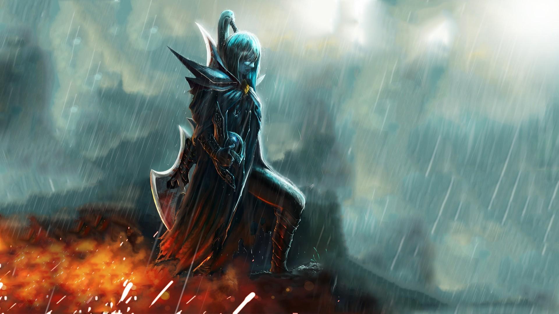 mortred blade heavy rain alone dota 2