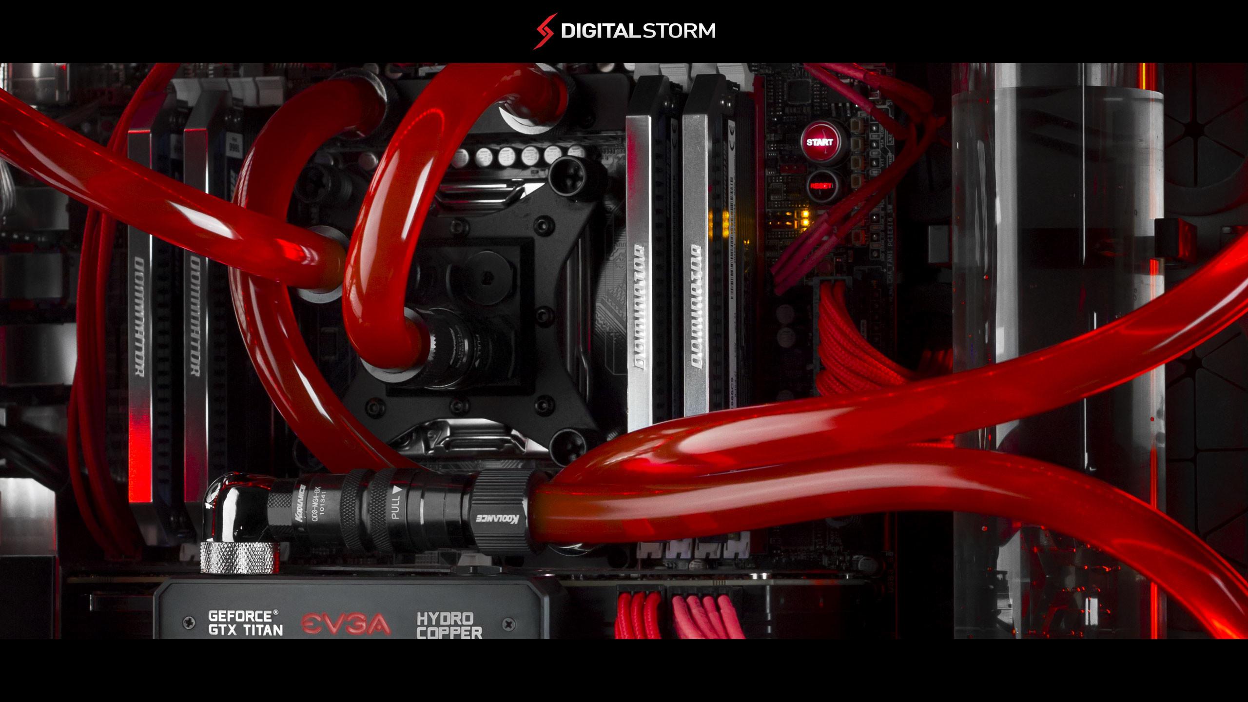 f. Digital Storm HydroLux Wallpaper