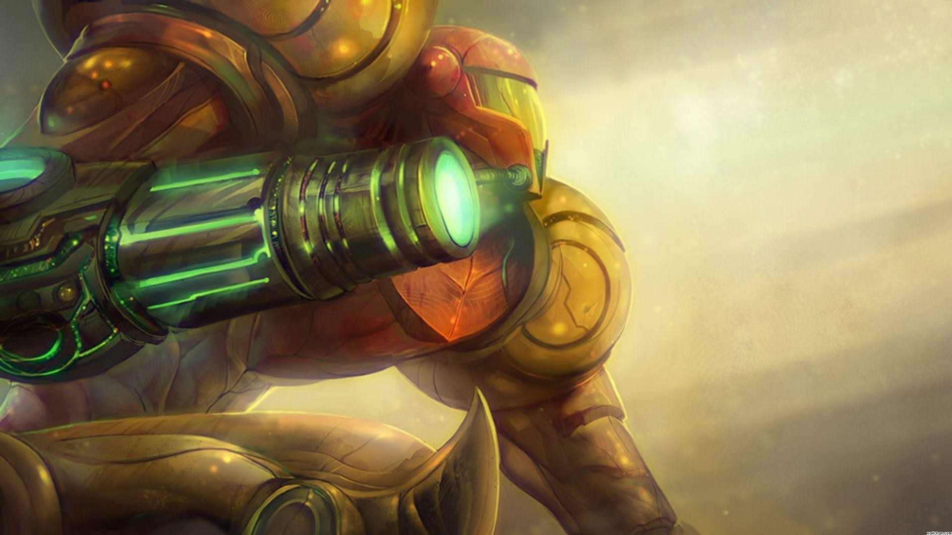Images For > Metroid Wallpaper 1080p