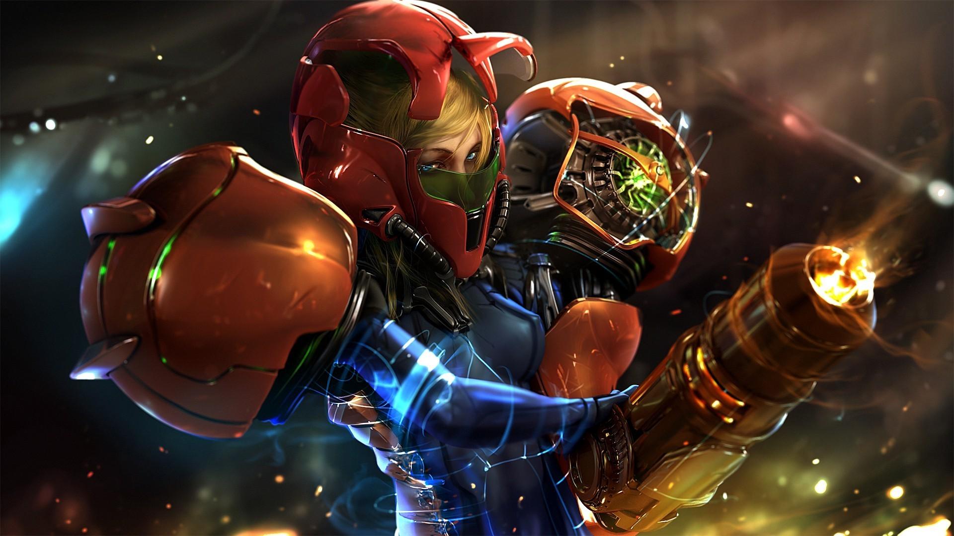 <b>Metroid</b> Prime Hunters <b>HD Wallpaper<
