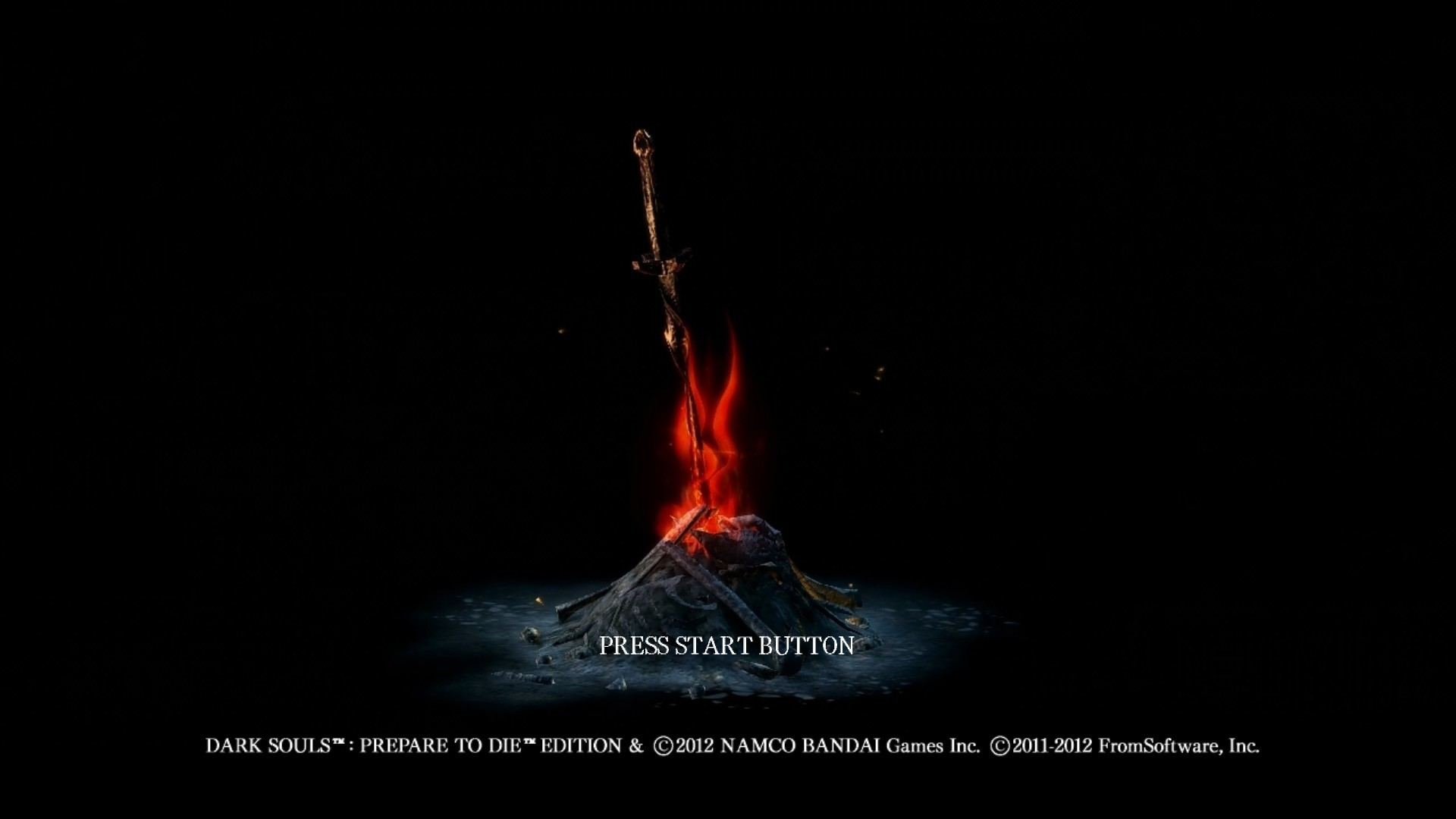 Splash Screen – Dark Bonfire at Dark Souls Nexus – mods and community .