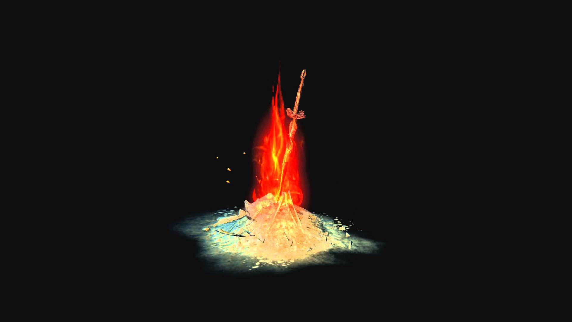 HD Dreamscene Bonfire Loop (1 Kindling)