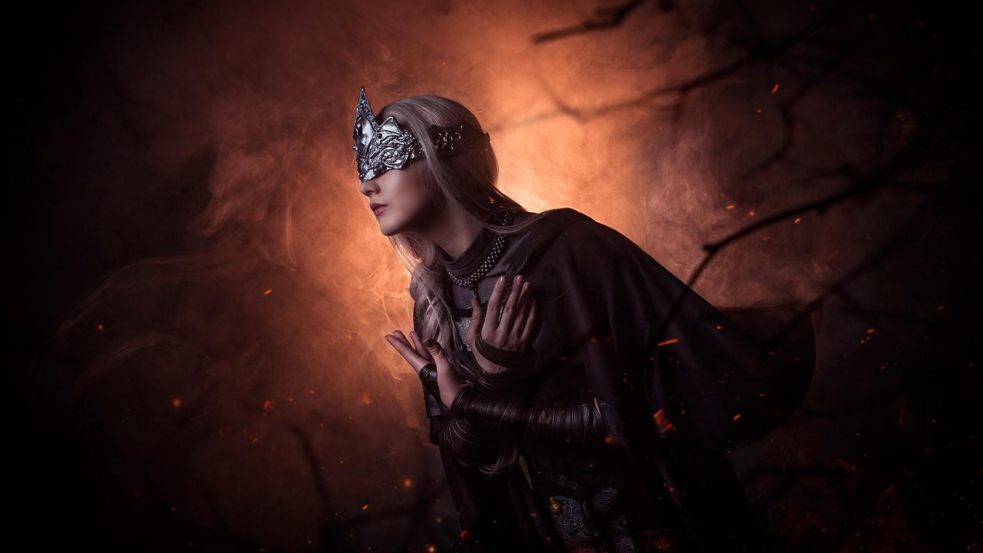 Wallpaper Fire keeper, Cosplay, Dark Souls 3, Fantasy, #934