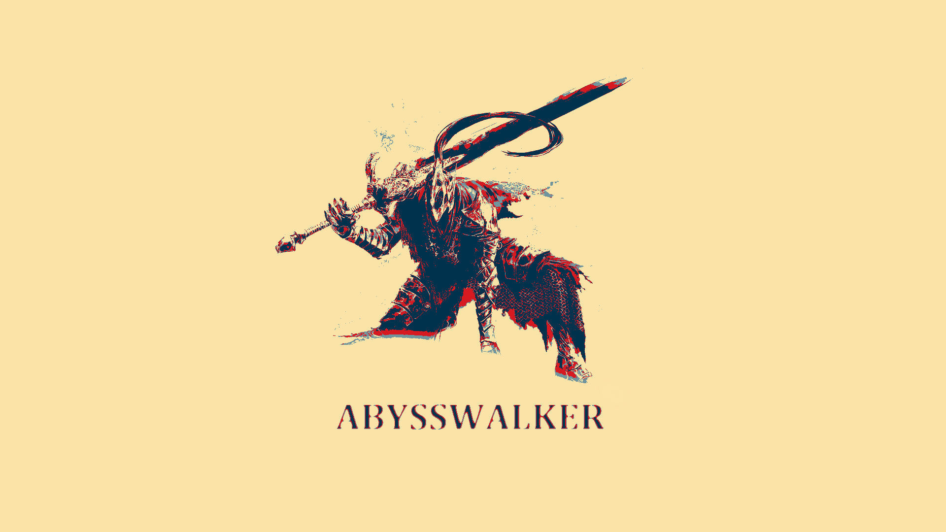 Abysswalker Dark Souls Wallpaper