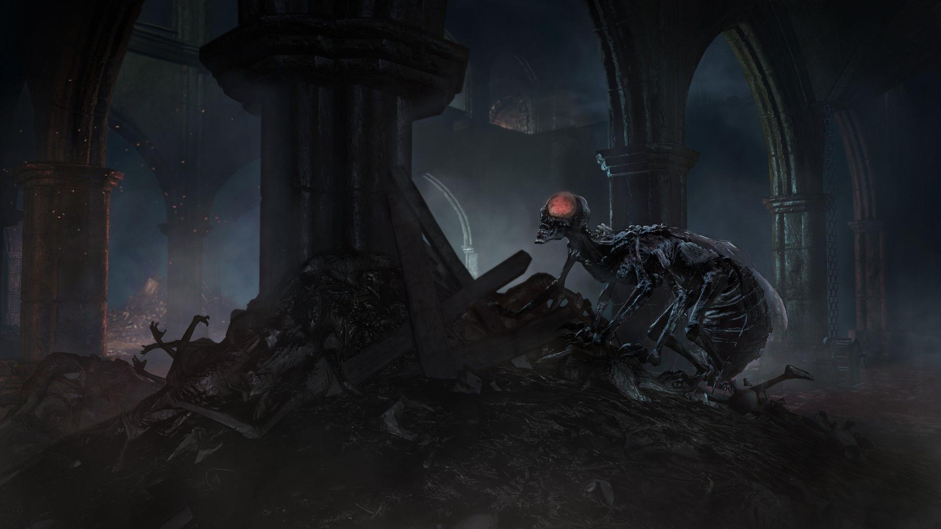 Wallpaper HD DARK SOULS III – DLC Ashes of Ariandel #DarkSouls3  #DarkSoulsIII #DarkSouls