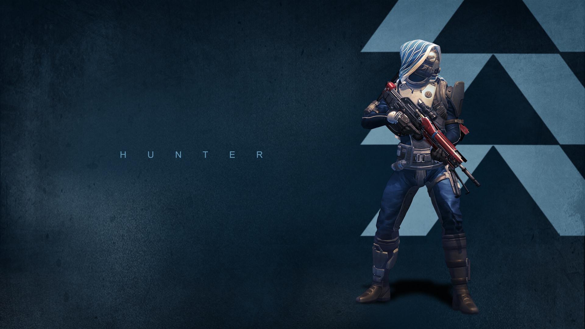 Hunter – Destiny Top FPS Game Wallpaper