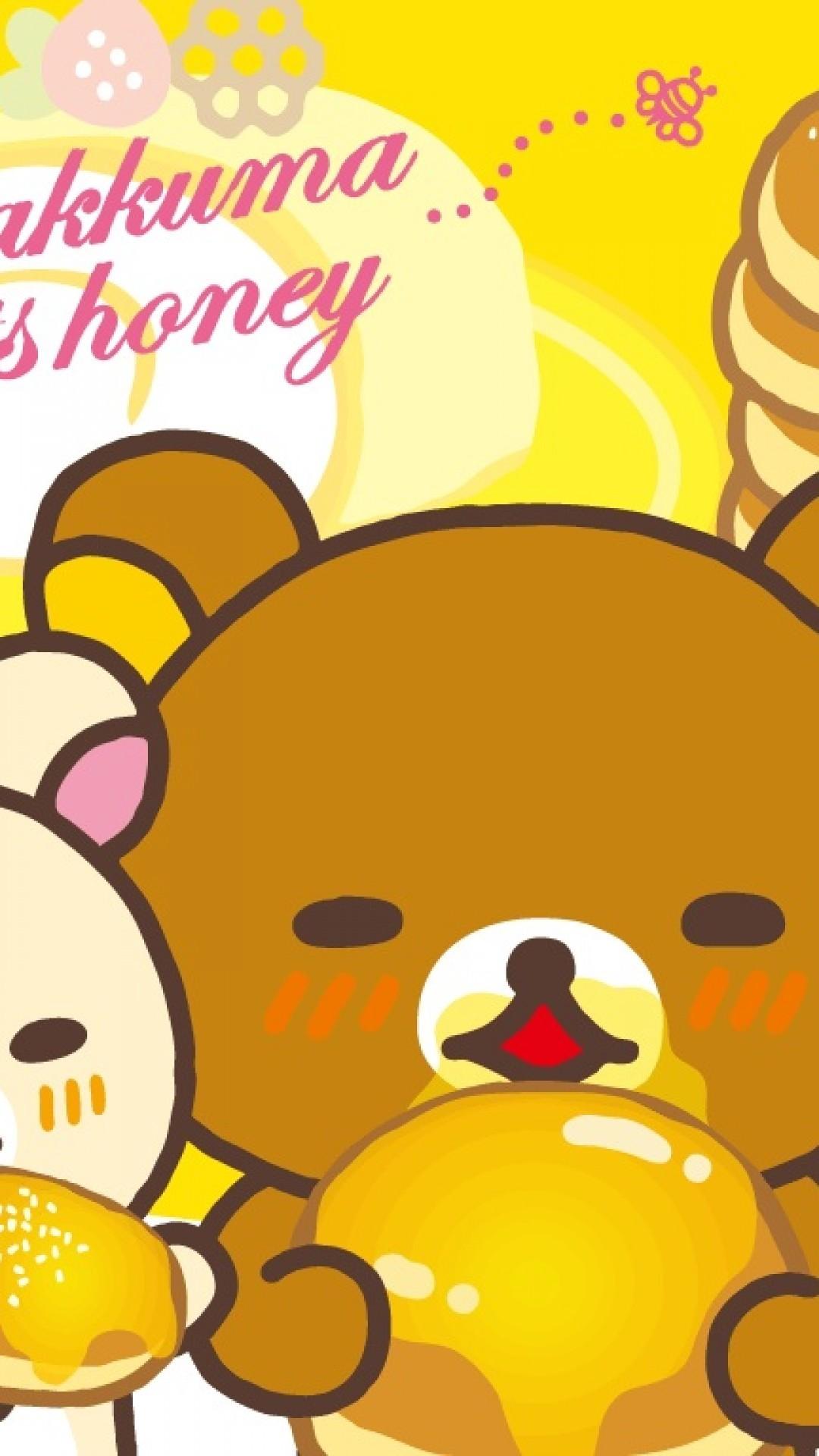 rilakkuma IPhone6s wallpaper