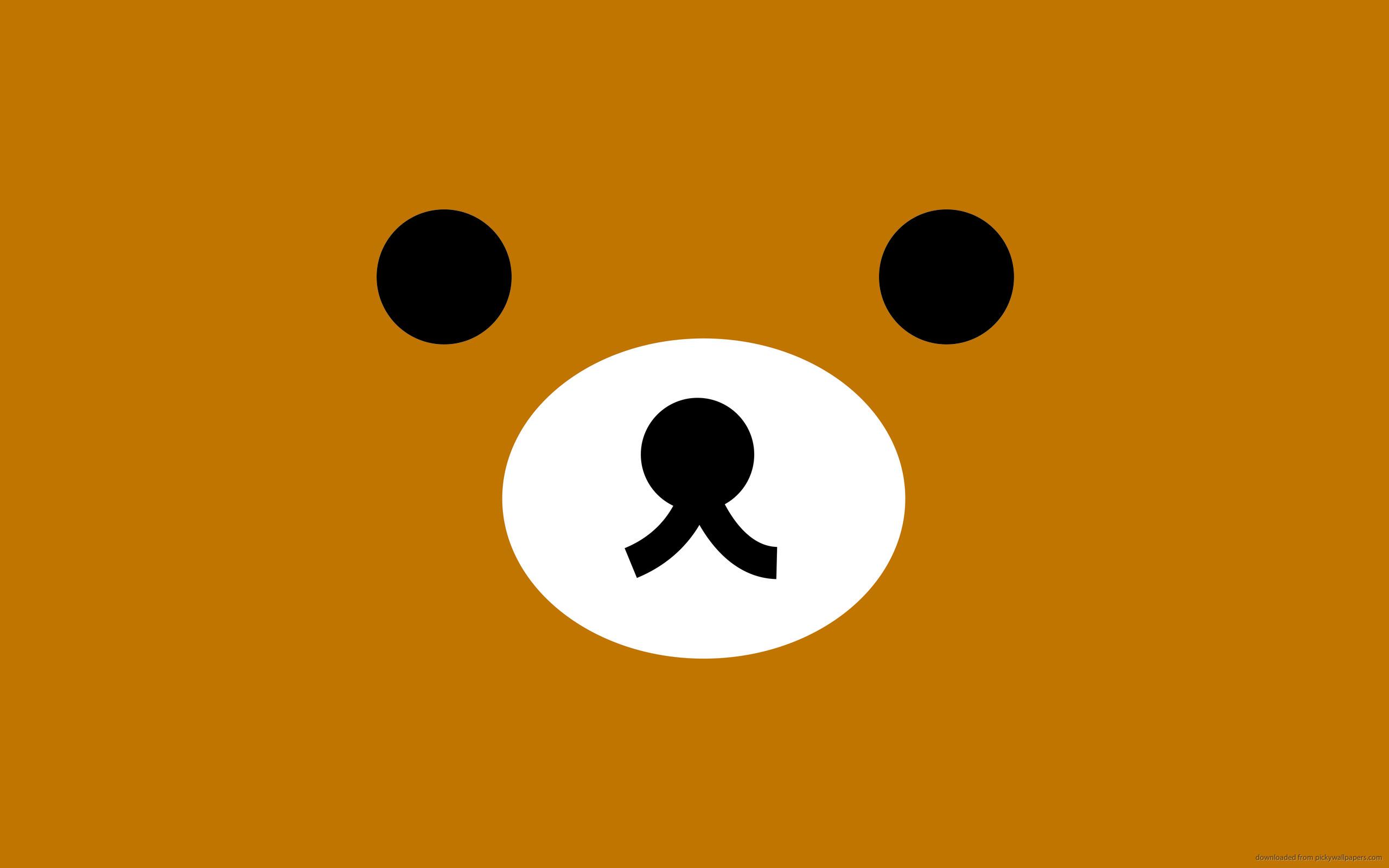Rilakkuma Brown Face for 2560×1600