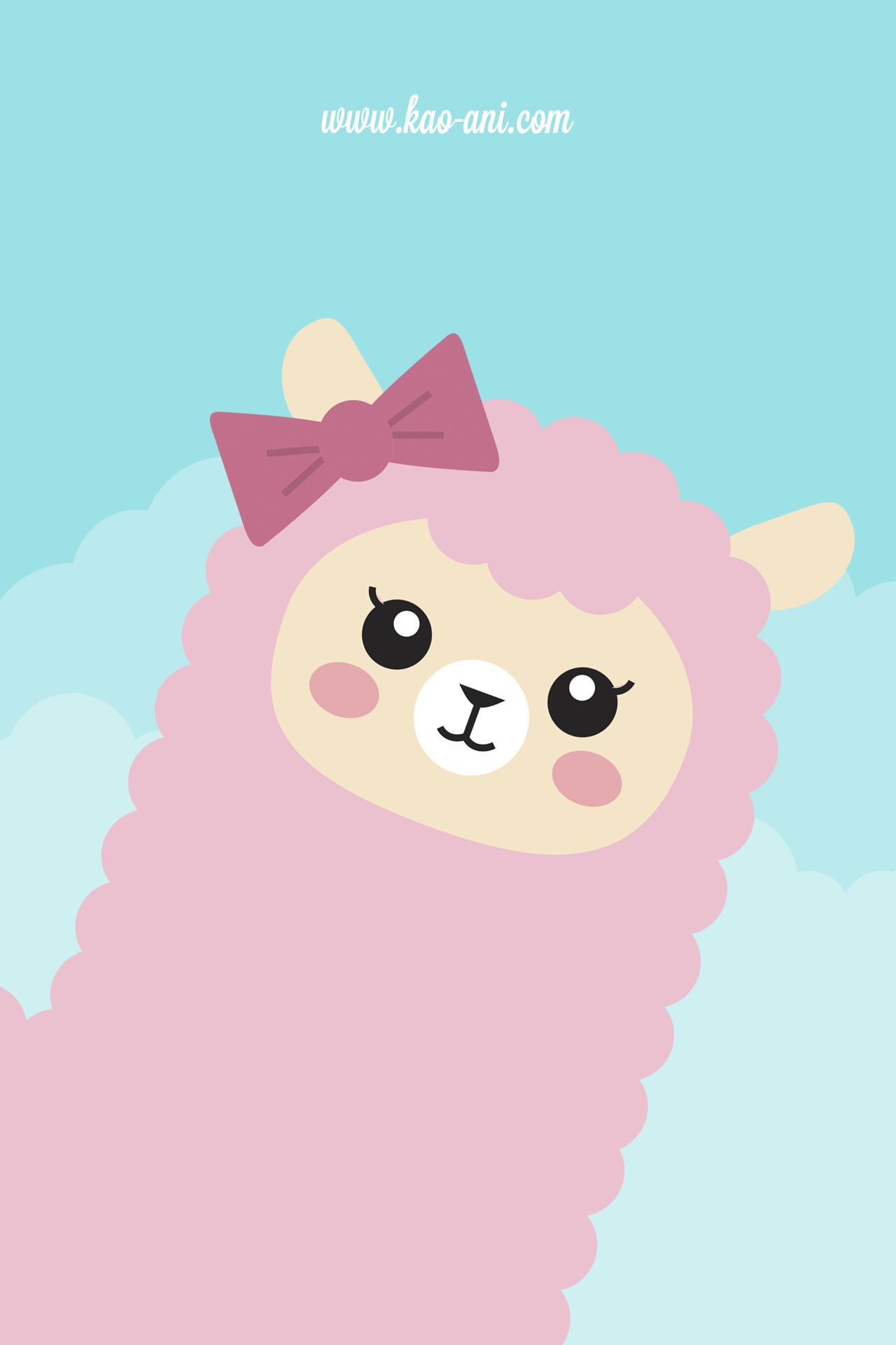 Iphone Backgrounds Tumblr Cute Alpaca iphone wallpaper