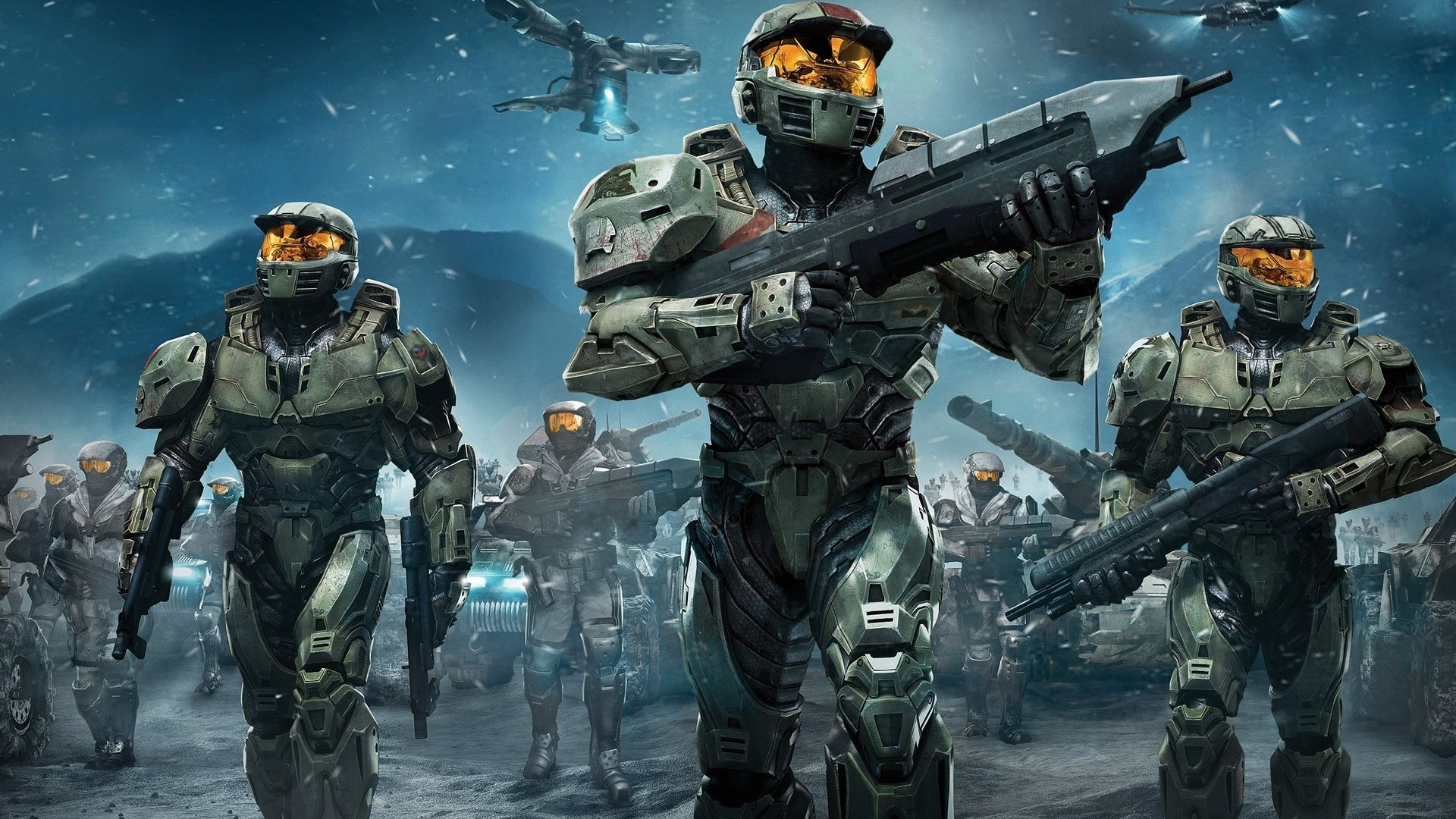 Halo Wars Spartans. How to set wallpaper on your desktop? Click  the download link from above and set the wallpaper on the desktop from your  OS.