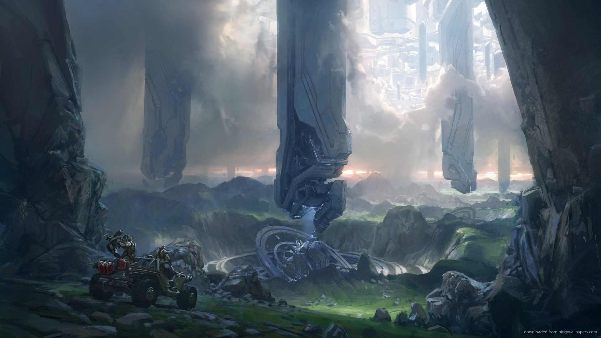 Halo 4 Concept Art for 1920×1080