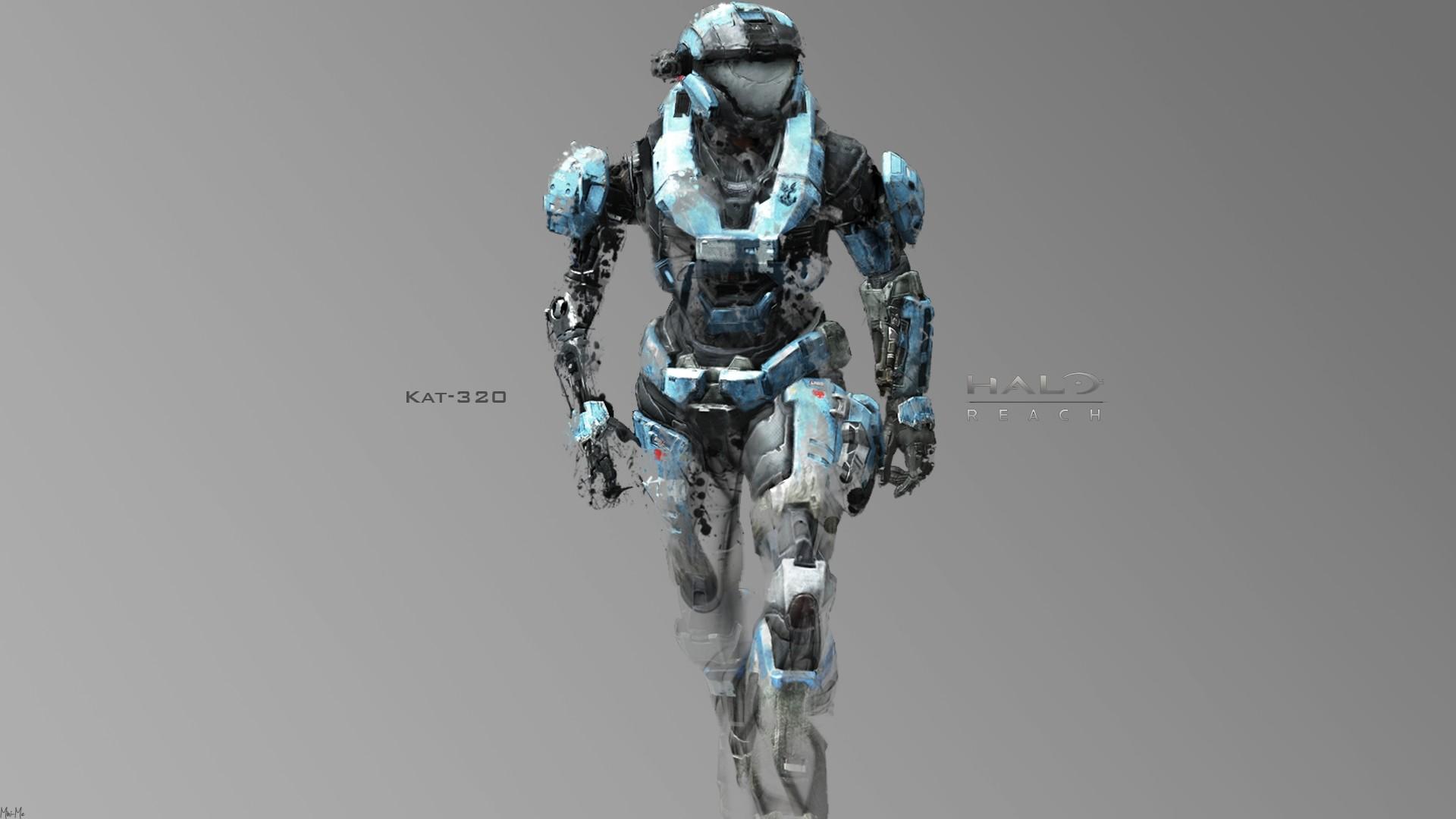 Wallpaper halo, soldier, armor, kat-320