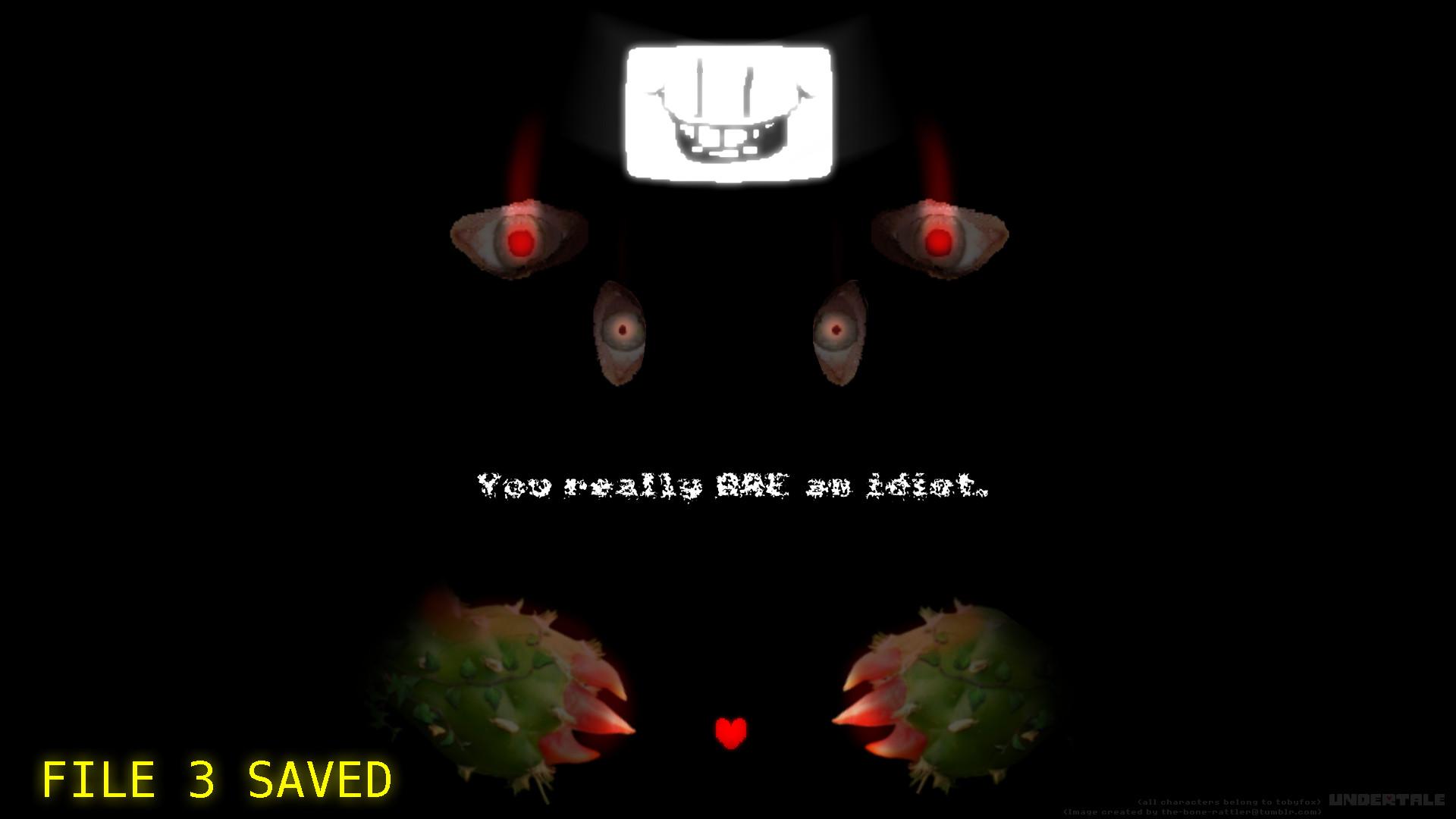 F L O W E Y Screensaver   Undertale   Know Your Meme