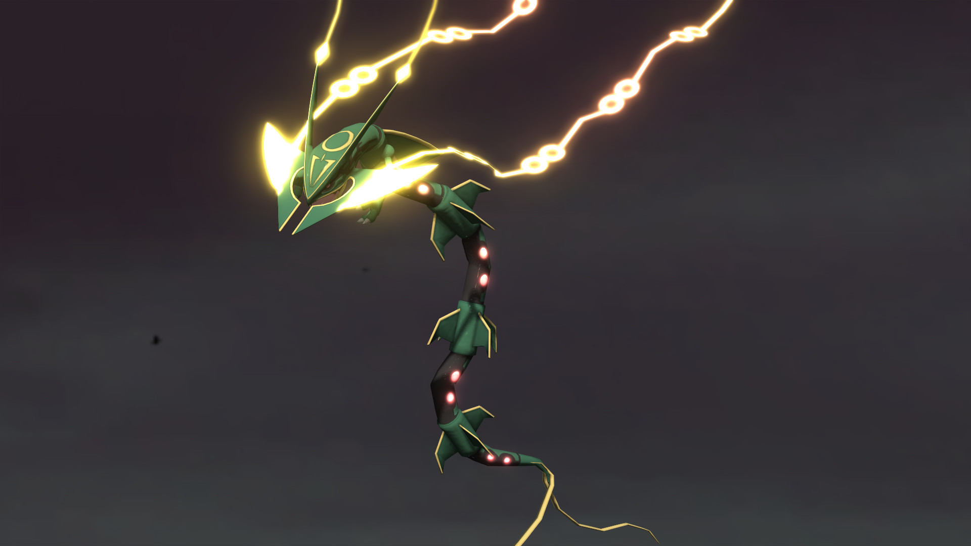 … THE PRIMAL 3 – Mega Rayquaza by GuilTronPrime