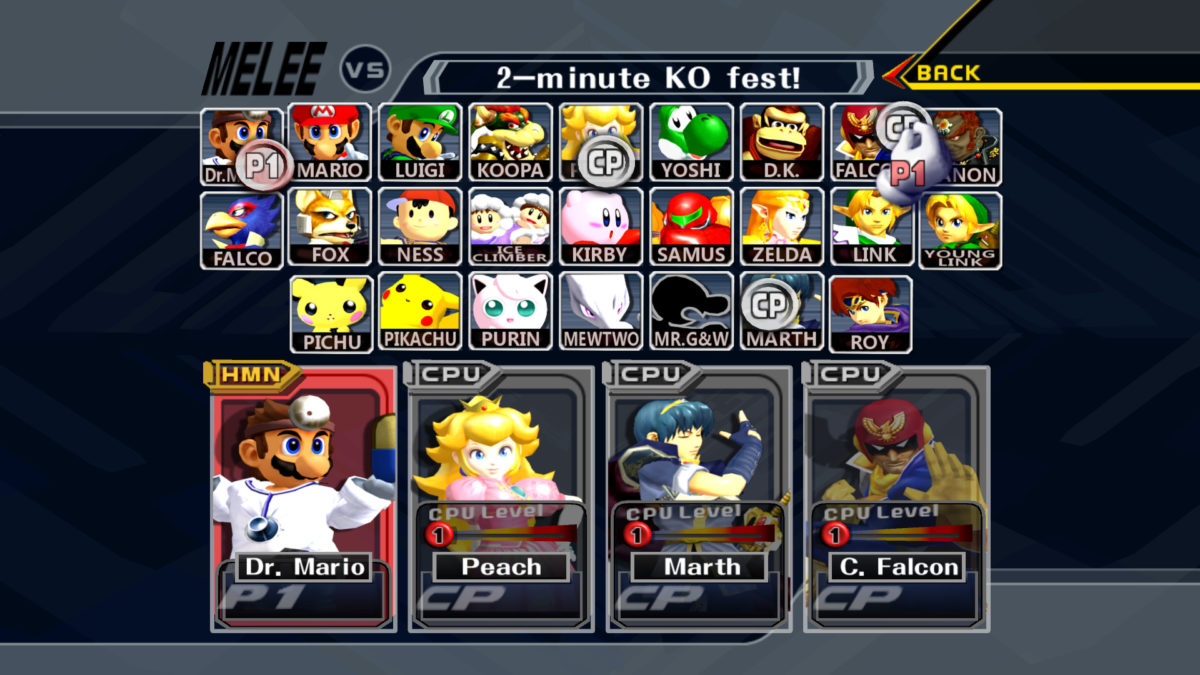 Super Smash Bros Melee Wallpaper Super Smash Bros Melee Hd