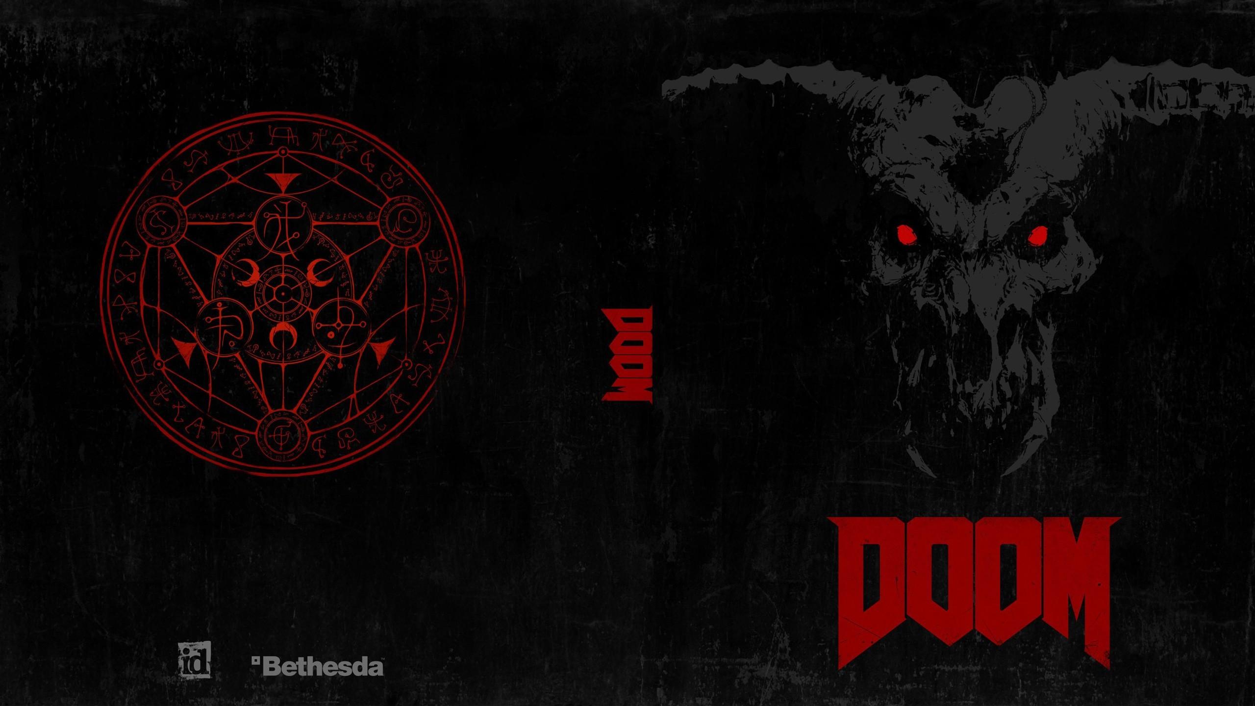 … x 1440 Original. Description: Download Doom 4 2016 Game Games wallpaper  …