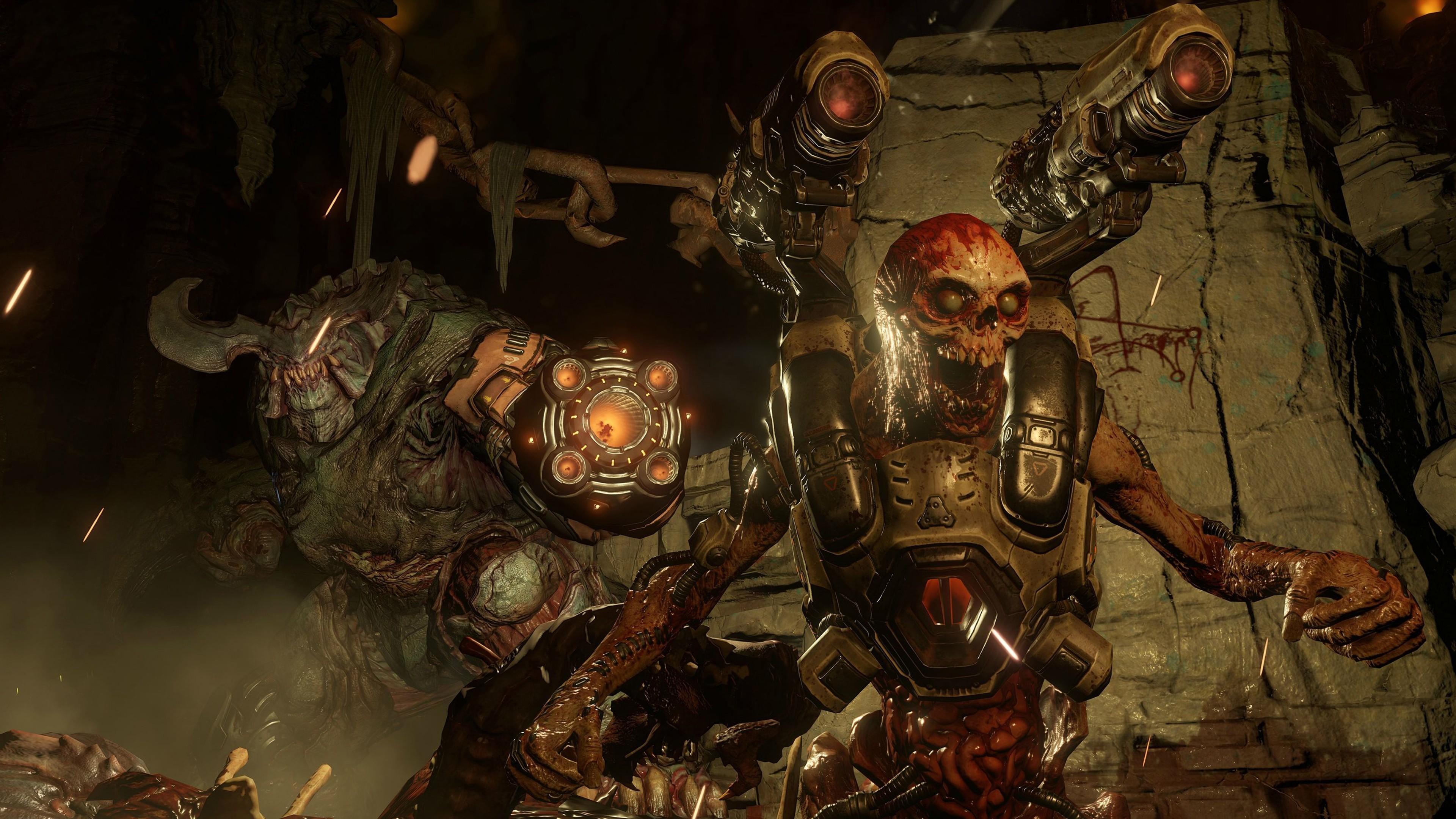 Doom Game 4k